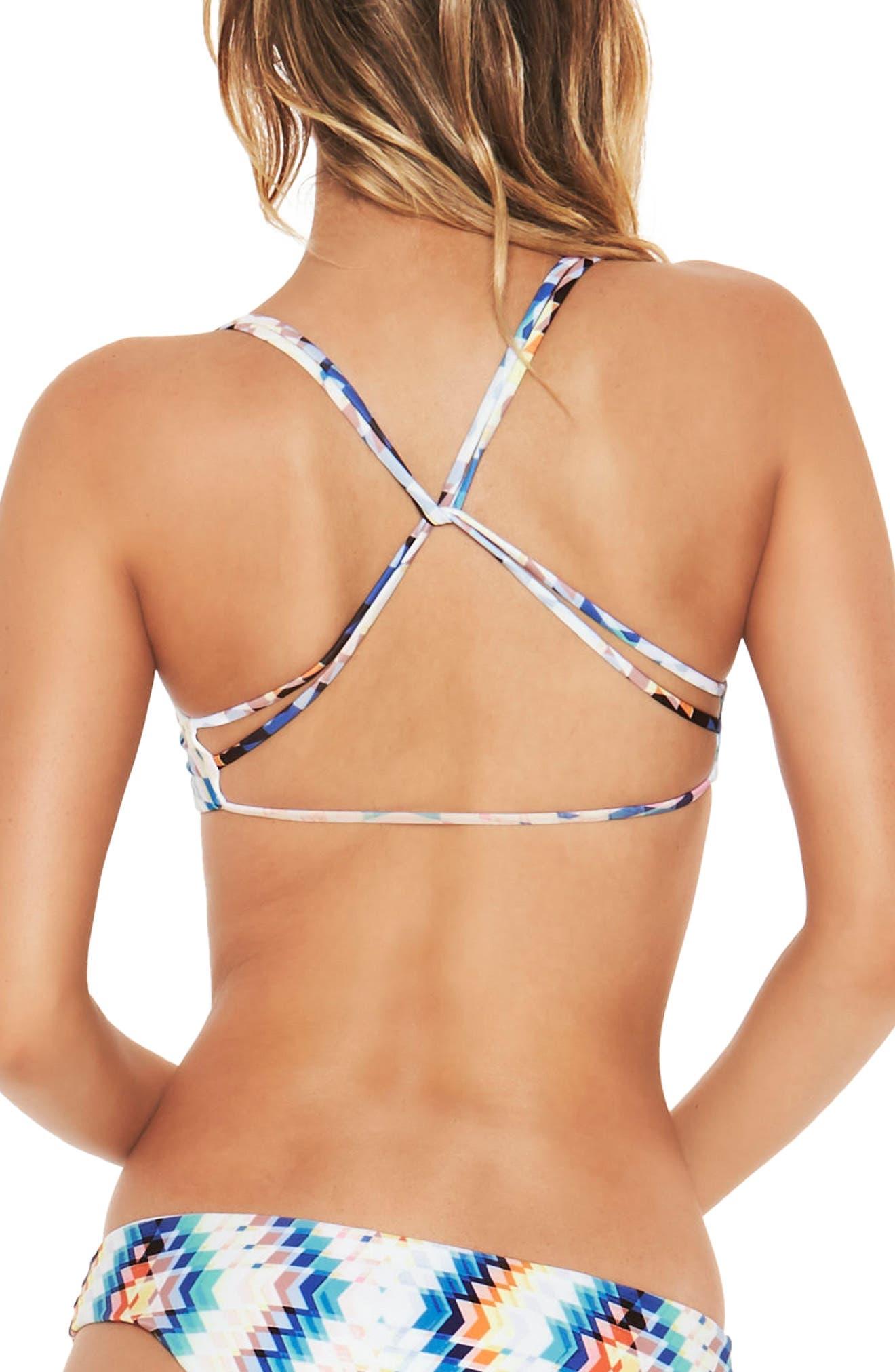 Alternate Image 2  - L Space Diamond Daze Hartly Bikini Top