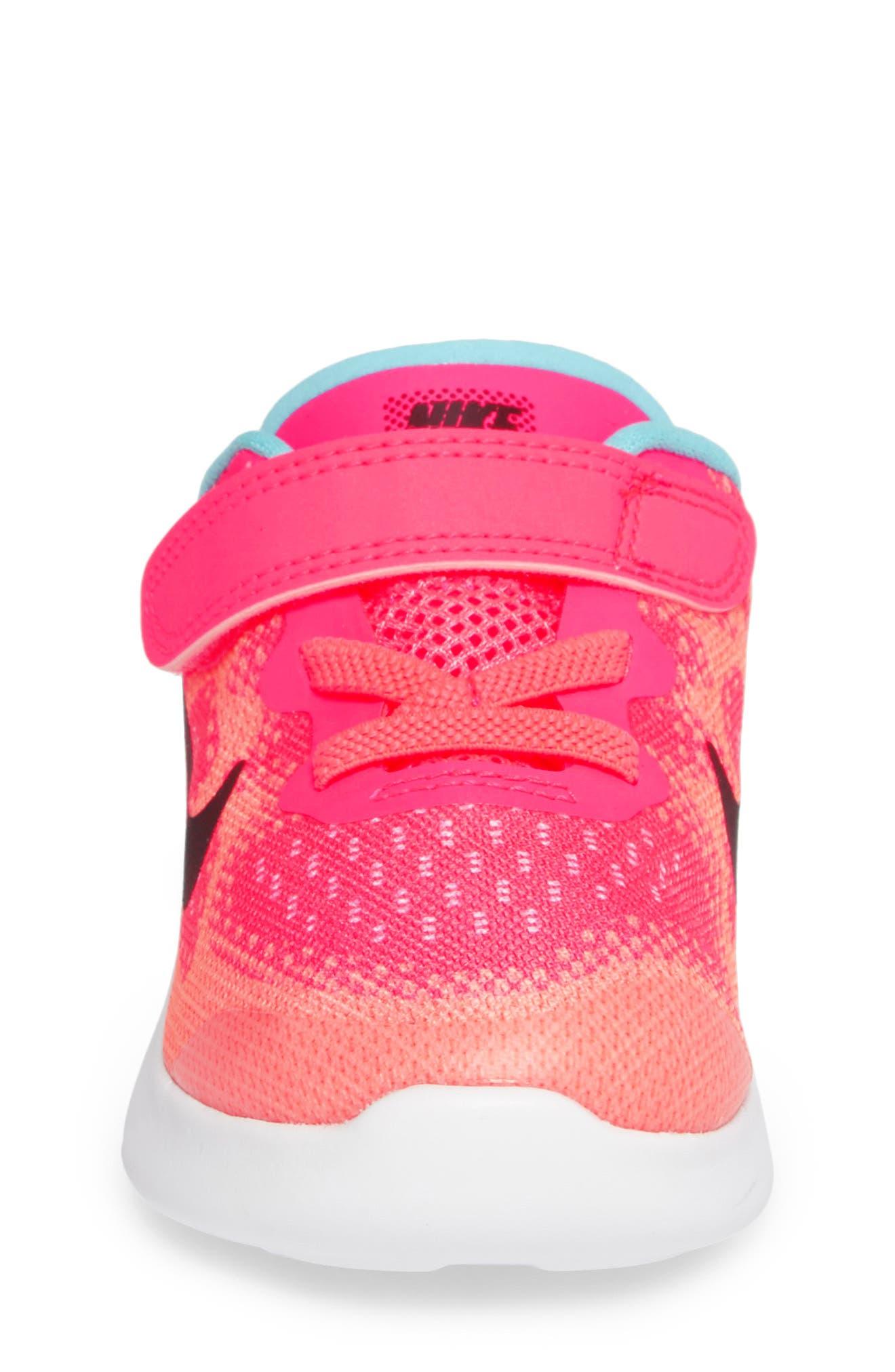 Alternate Image 4  - Nike Free Run 2017 Sneaker (Baby, Walker, Toddler & Little Kid)