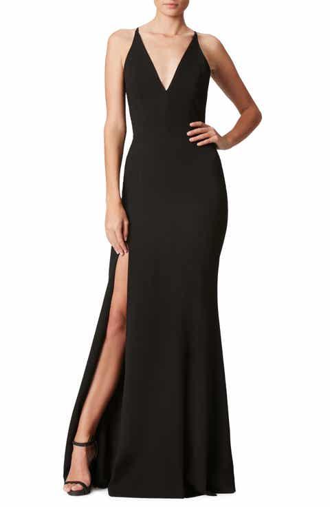 Women\'s Black Long Dresses | Nordstrom