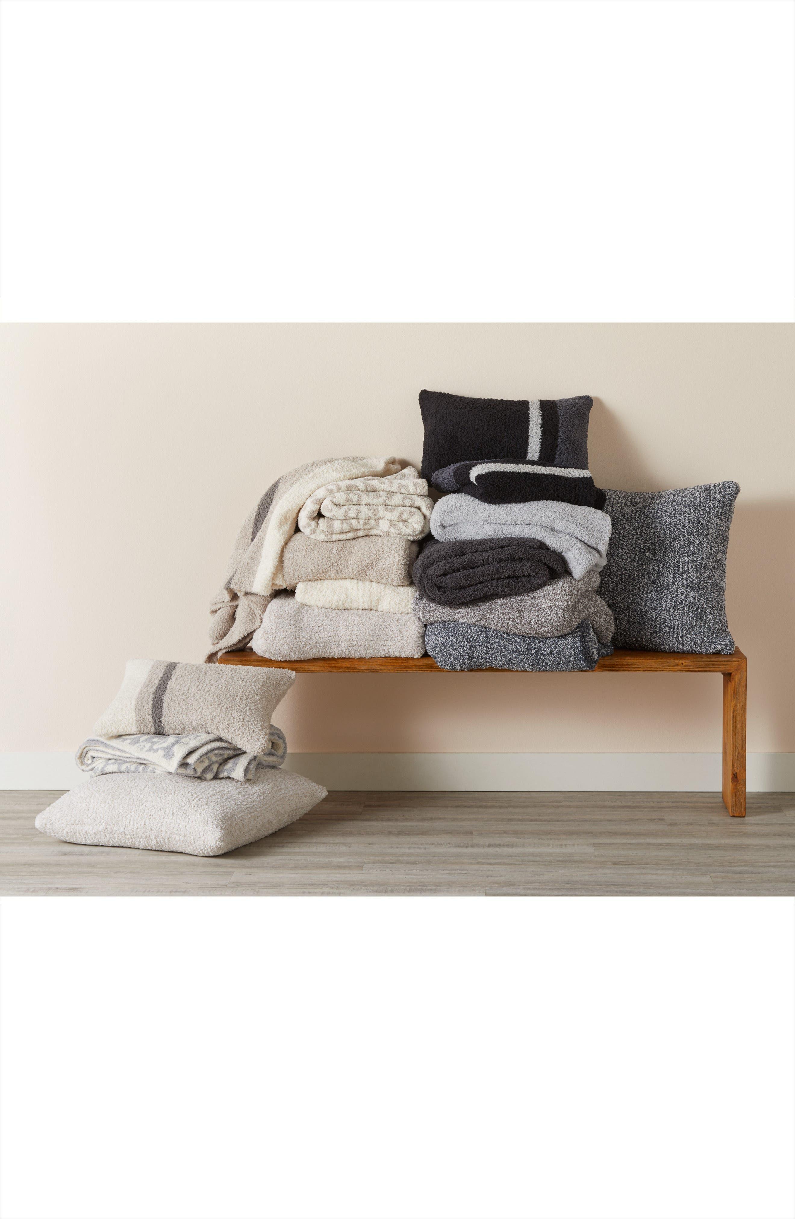 Alternate Image 4  - Barefoot Dreams® Cozychic® Block Stripe Throw Blanket