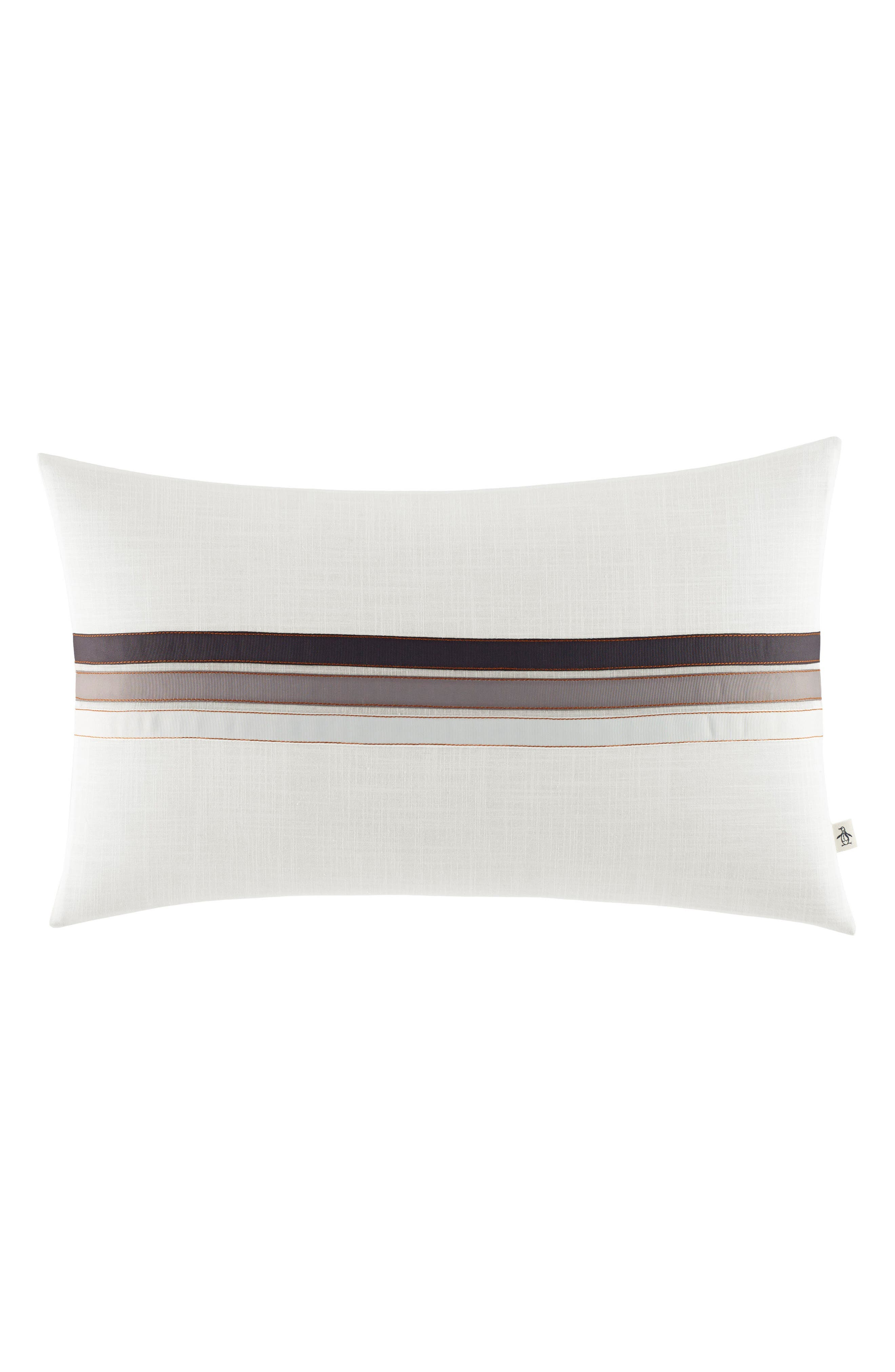Flynn Accent Pillow,                         Main,                         color, White