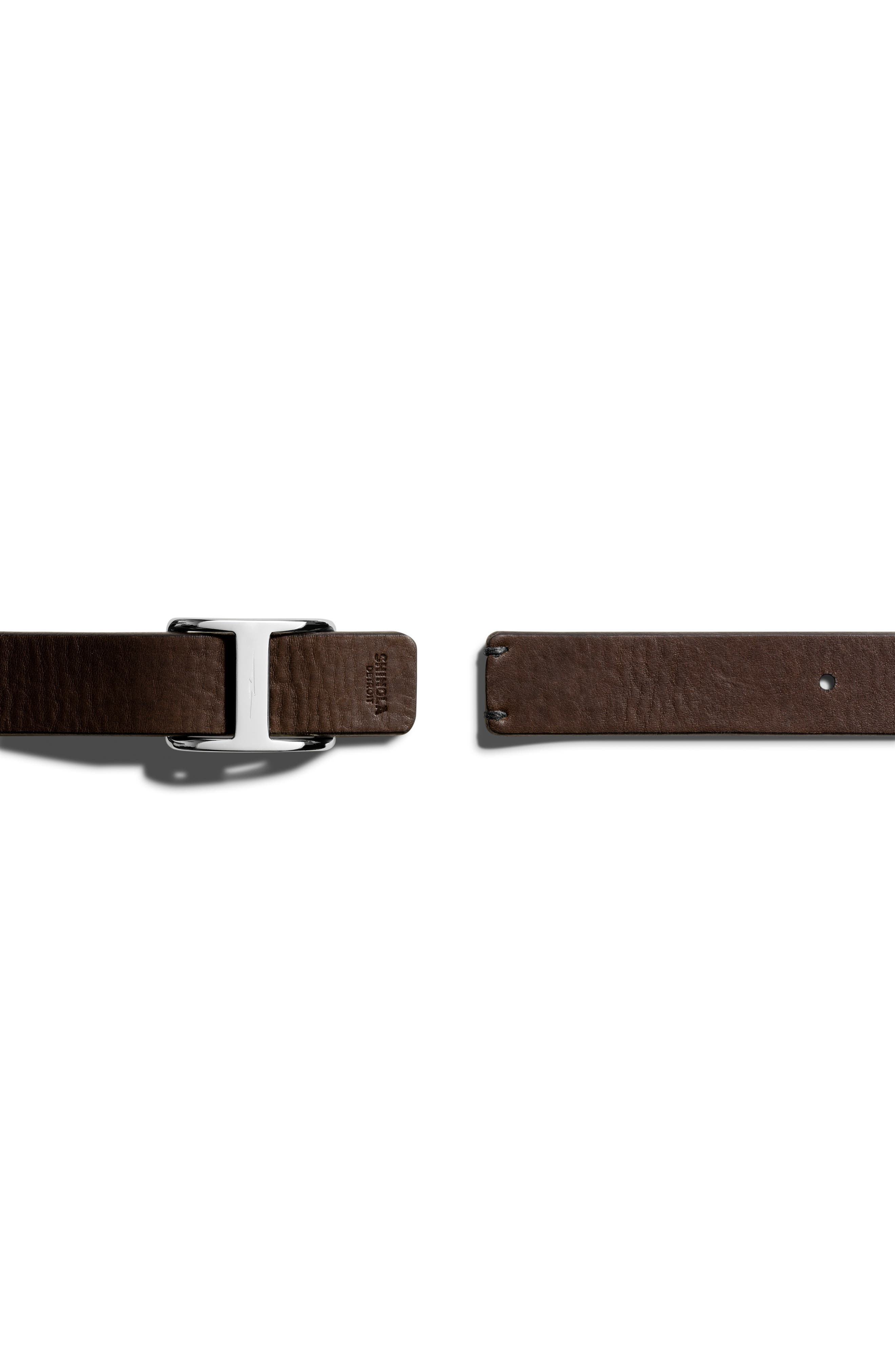 Alternate Image 5  - Shinola Reversible Leather Belt