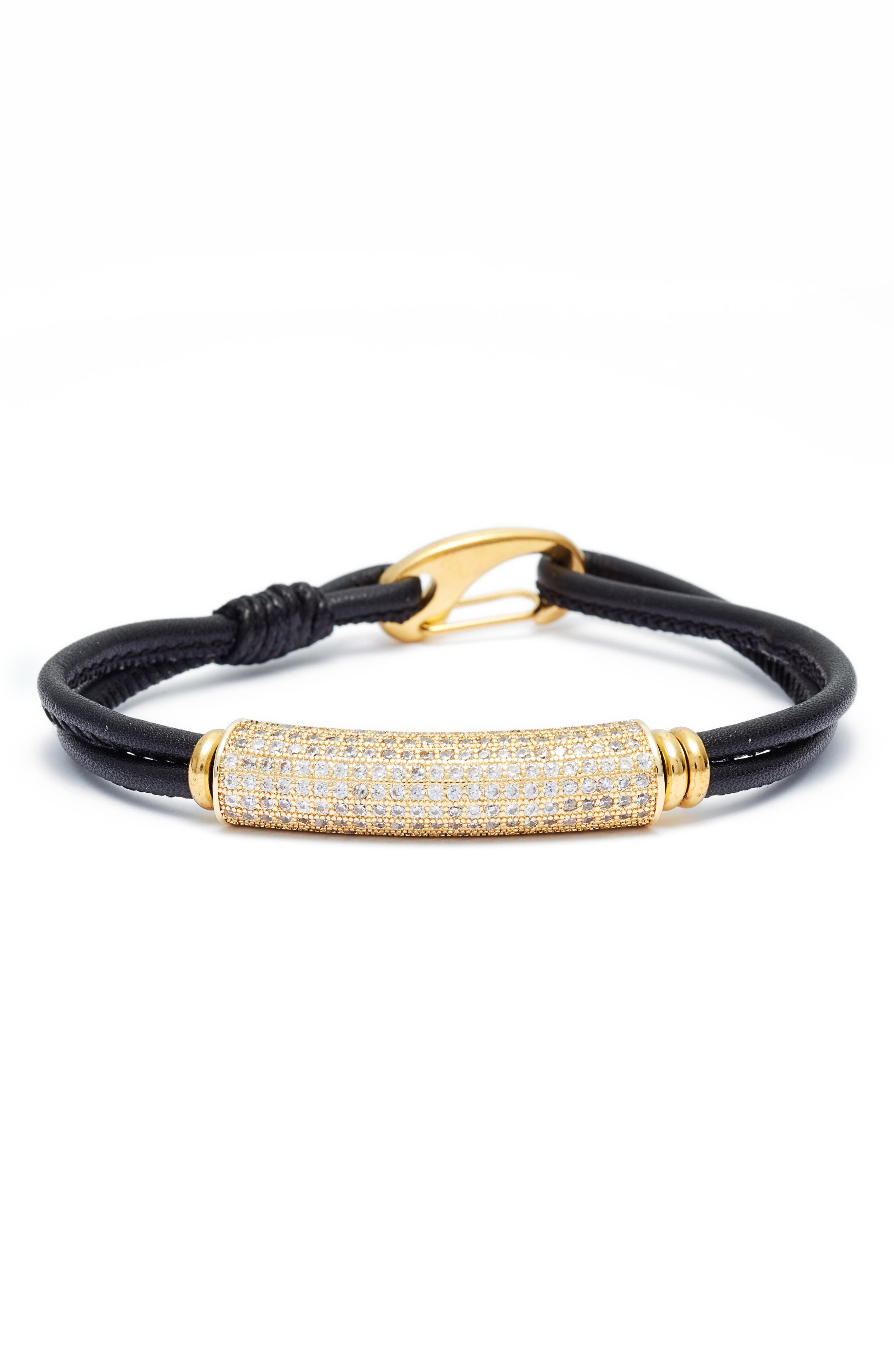 ELISE M. Sorella Leather Bracelet