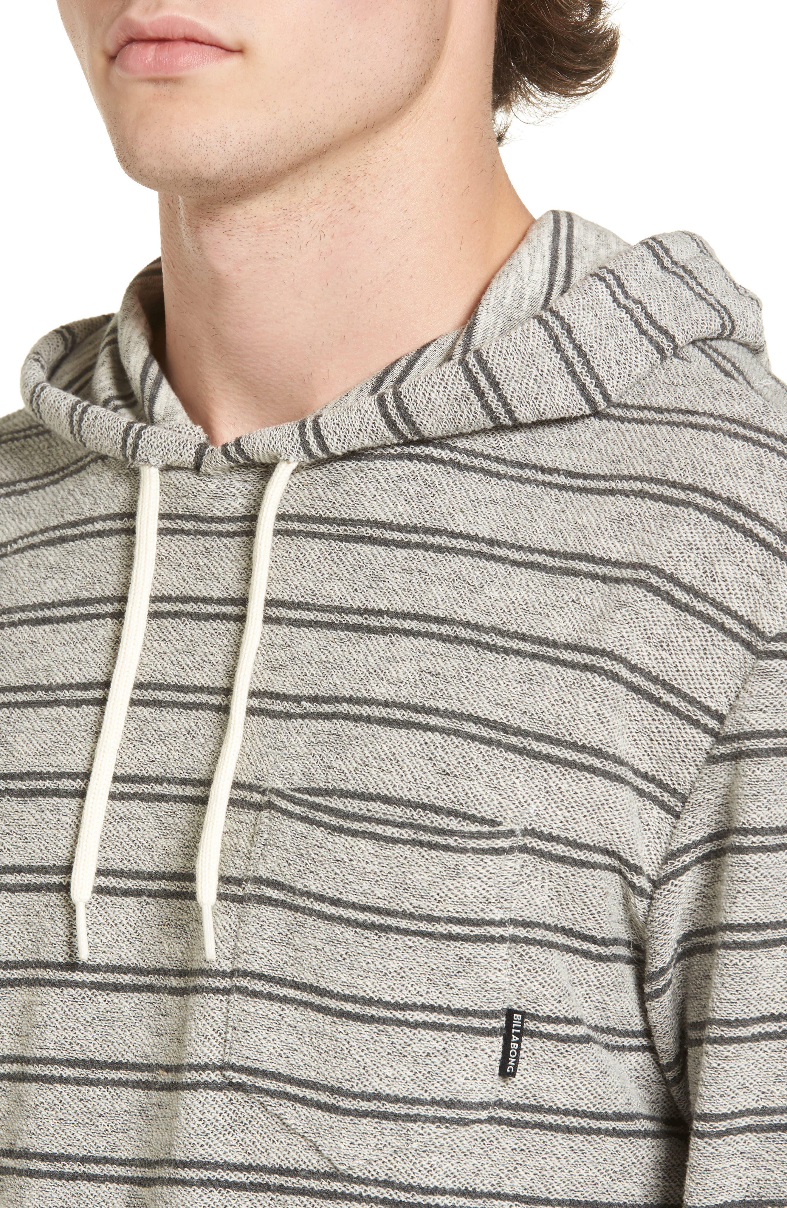 Alternate Image 4  - Billabong Flecker Stripe Hoodie