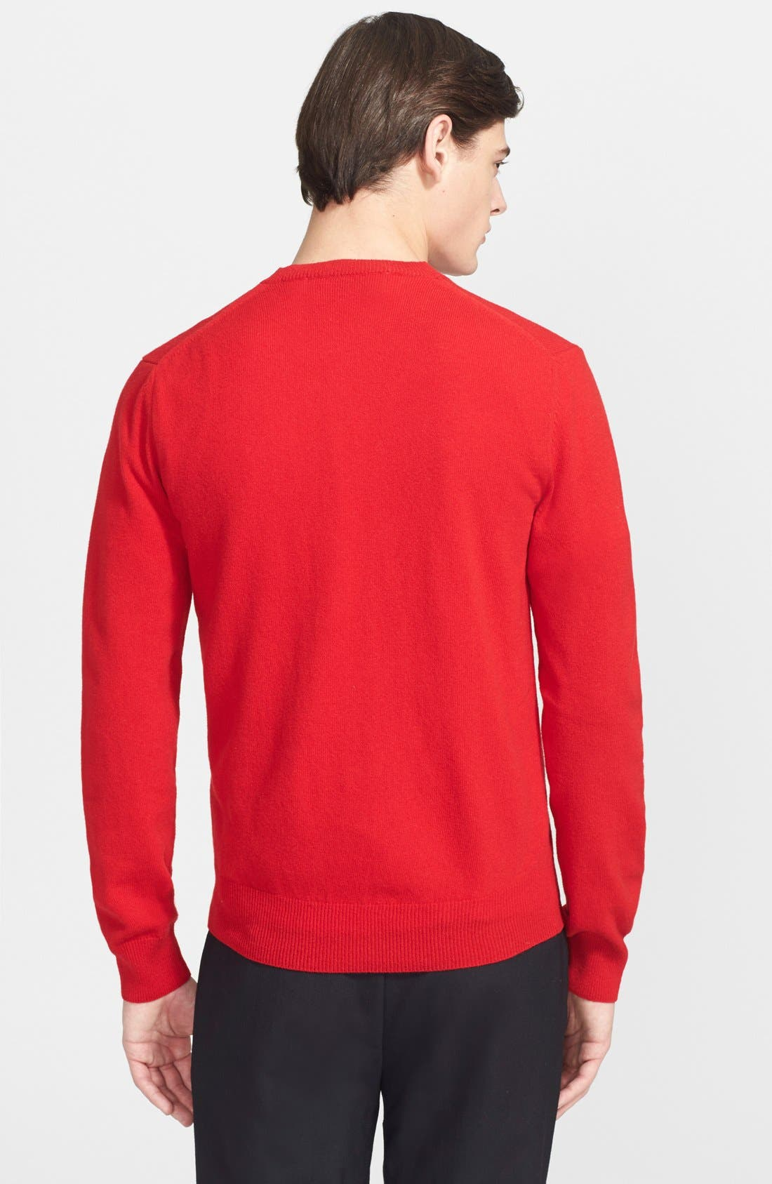 PLAY Wool Pullover,                             Alternate thumbnail 2, color,                             Red
