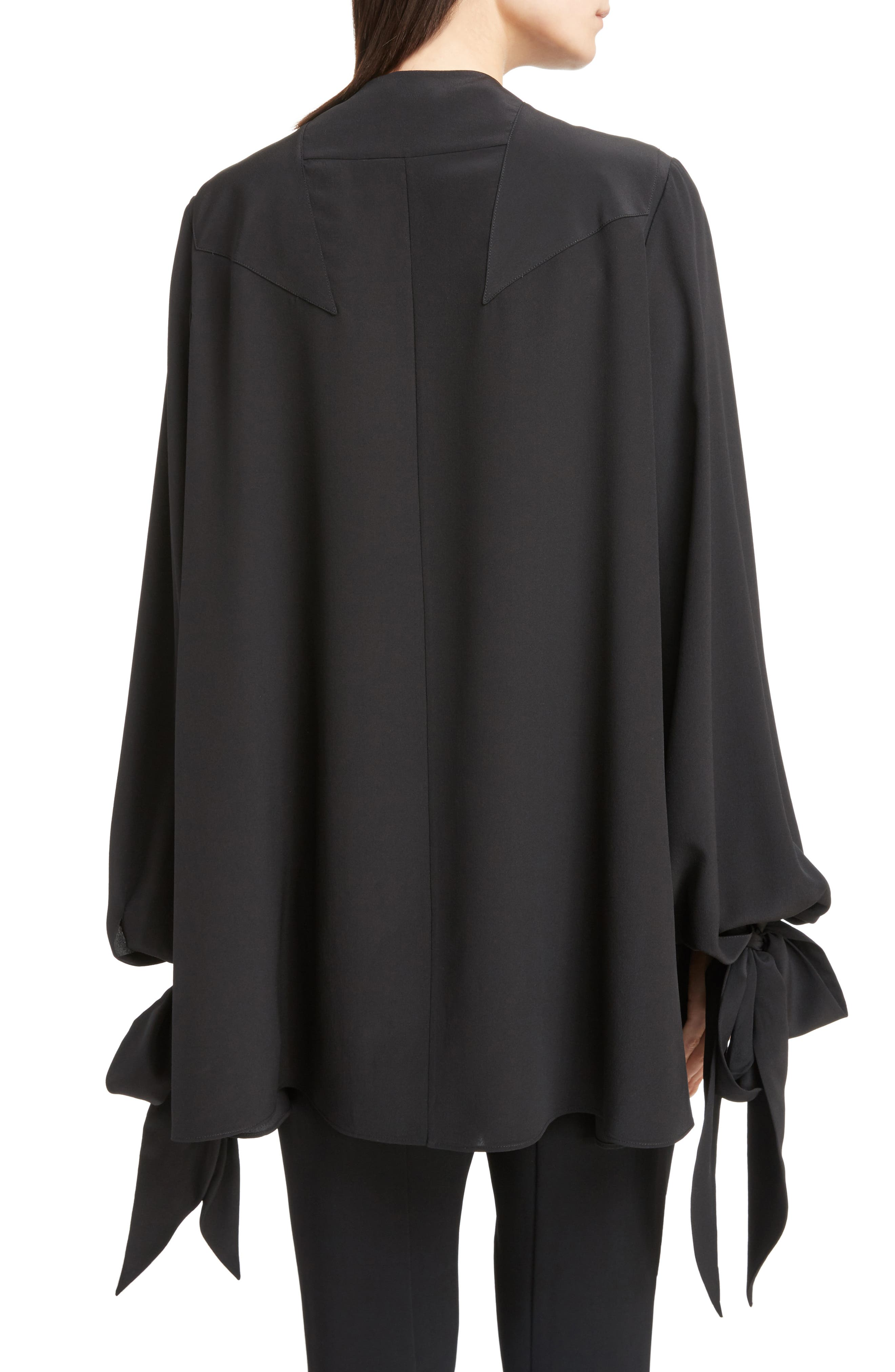 Alternate Image 2  - Givenchy Silk Drape Top