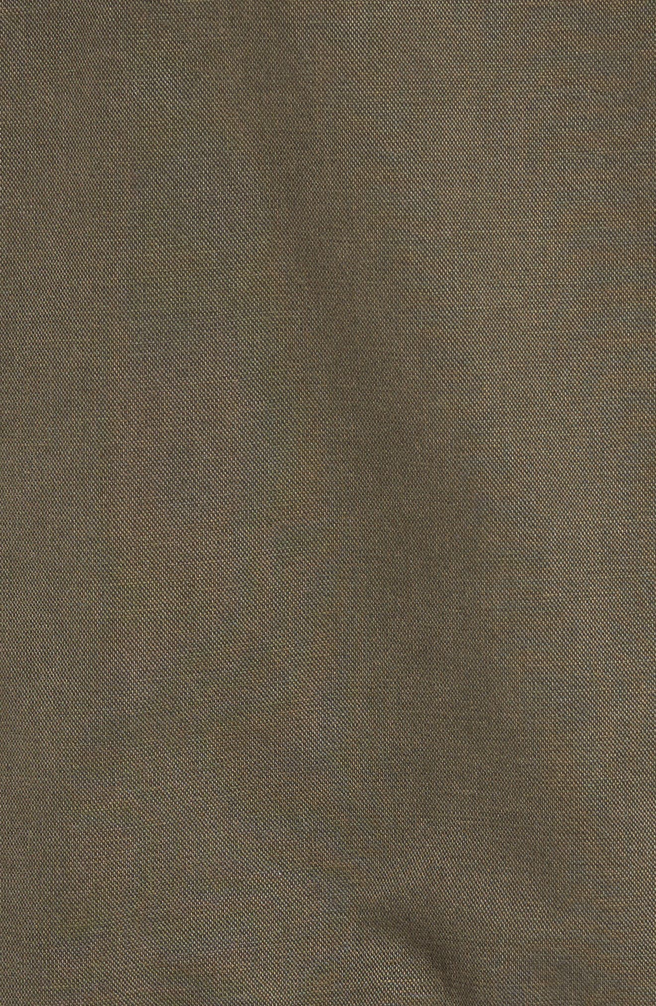 Alternate Image 5  - Caslon® Drawstring Hem Utility Jacket (Regular & Petite)