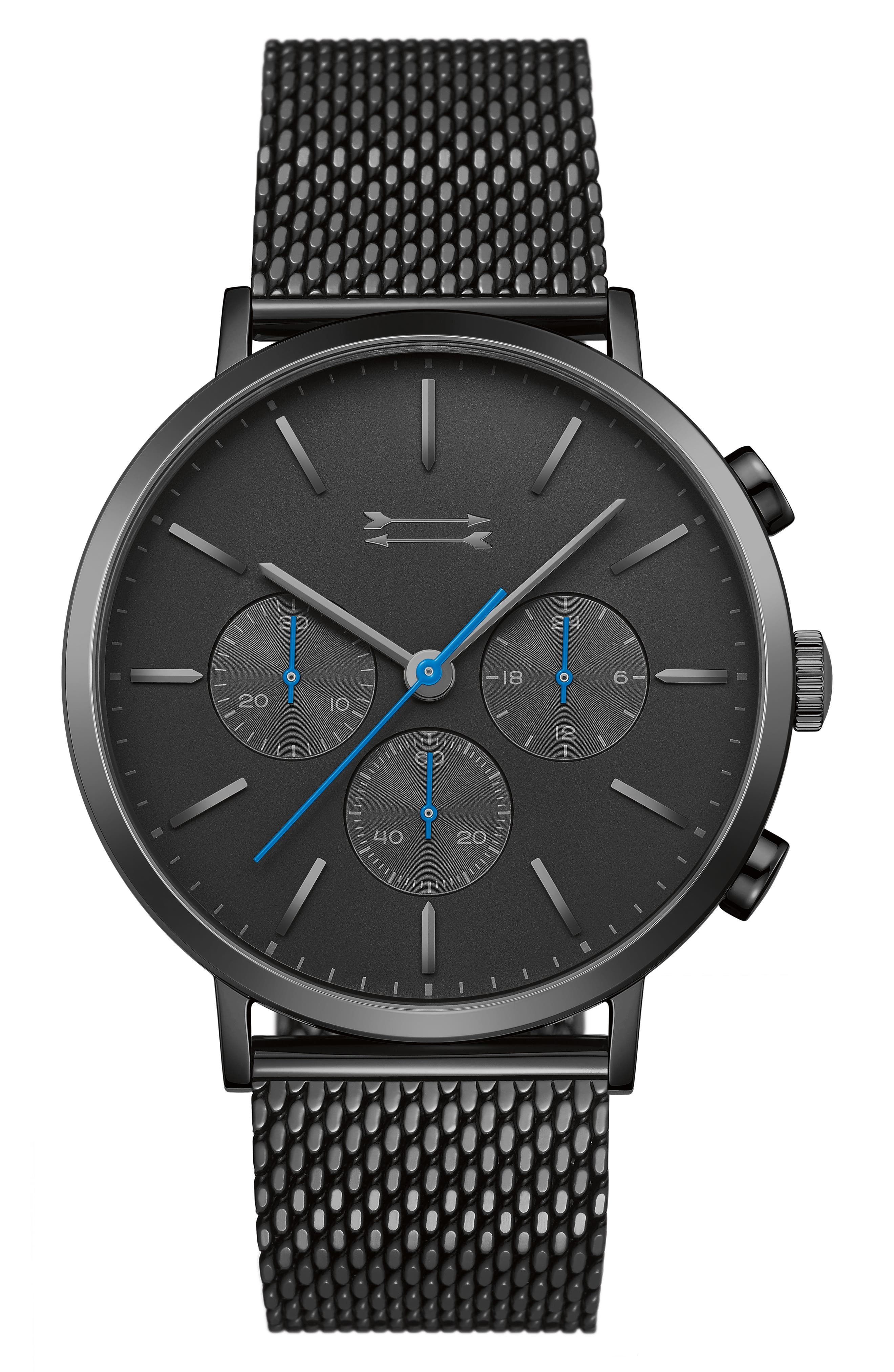 Alternate Image 1 Selected - Uri Minkoff Griffith Mesh Strap Watch, 43mm