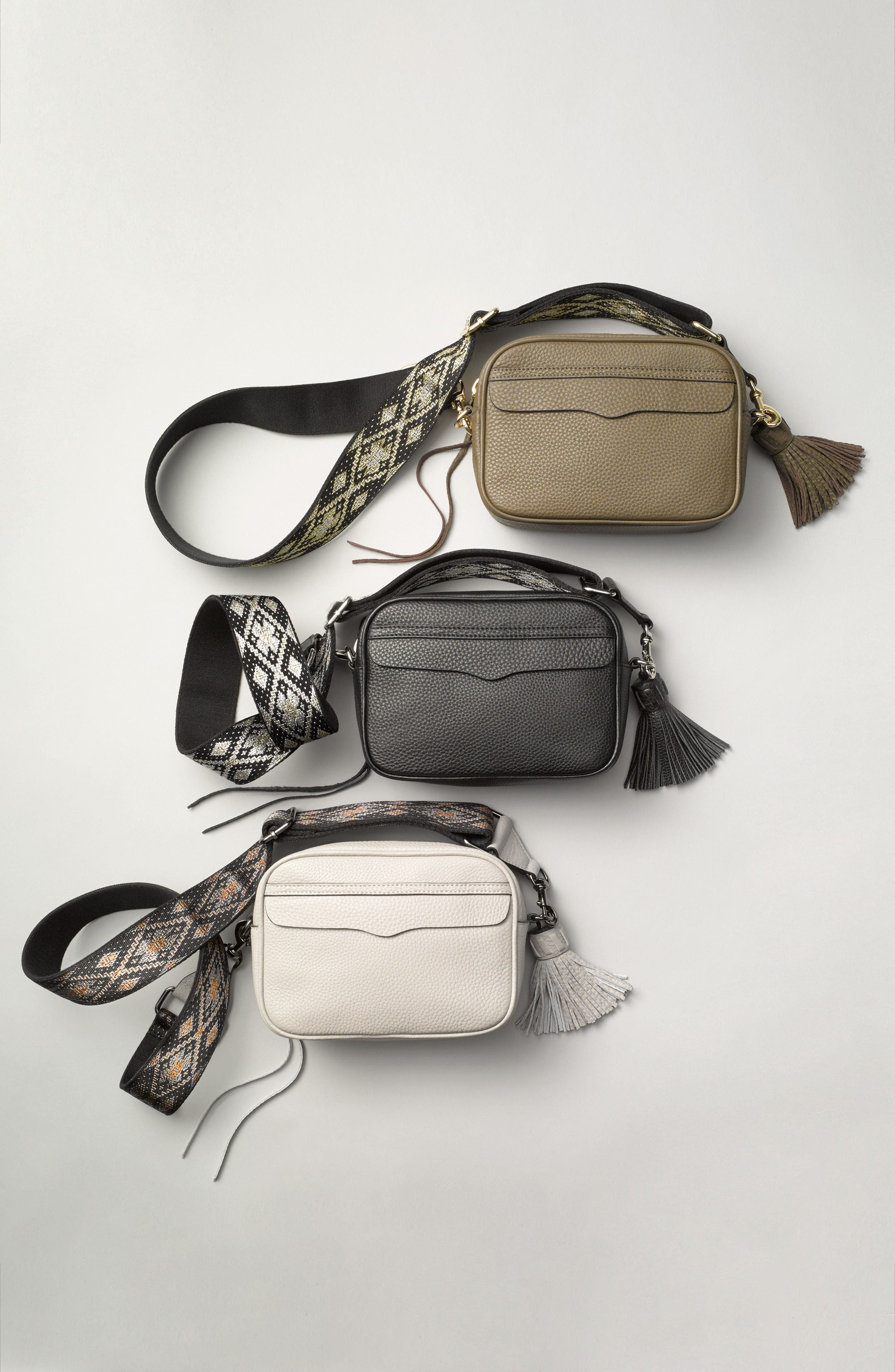 Alternate Image 7  - Rebecca Minkoff Leather Camera Bag with Guitar Strap (Nordstrom Exclusive)