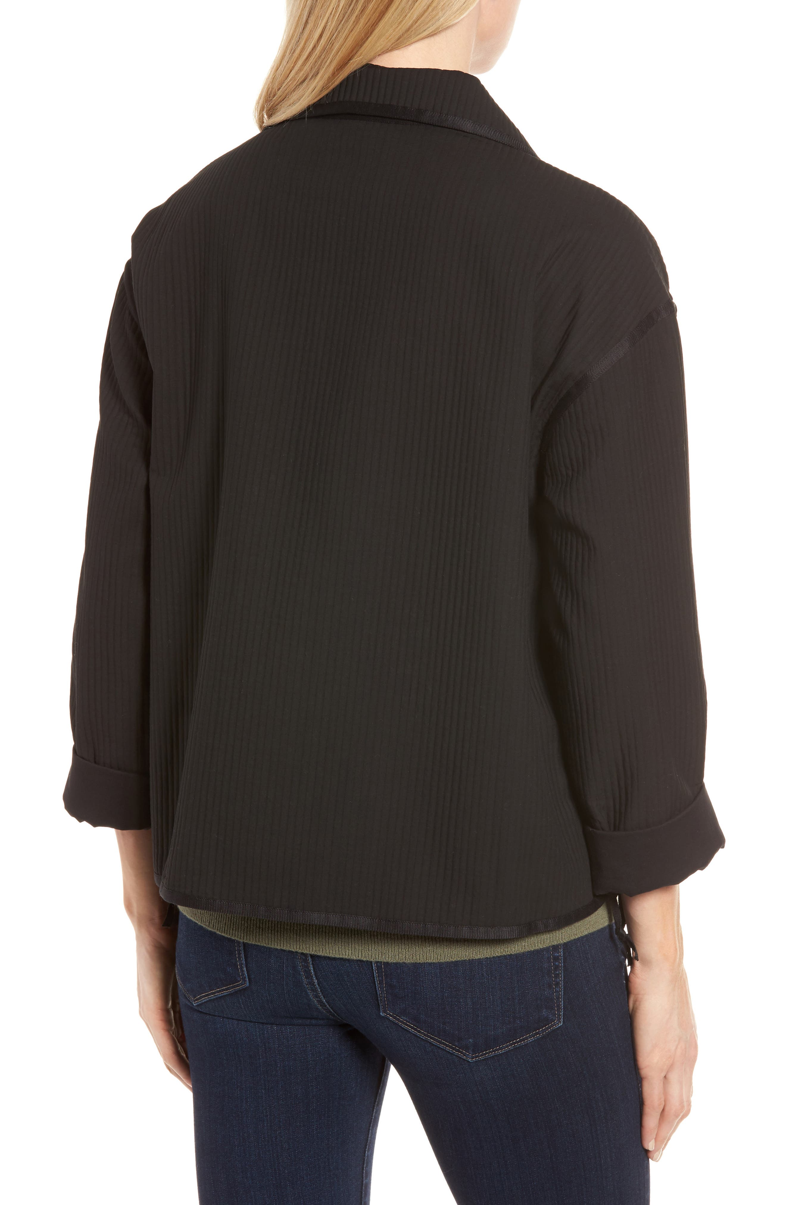 Alternate Image 2  - Nordstrom Signature Ottoman Knit Jacket