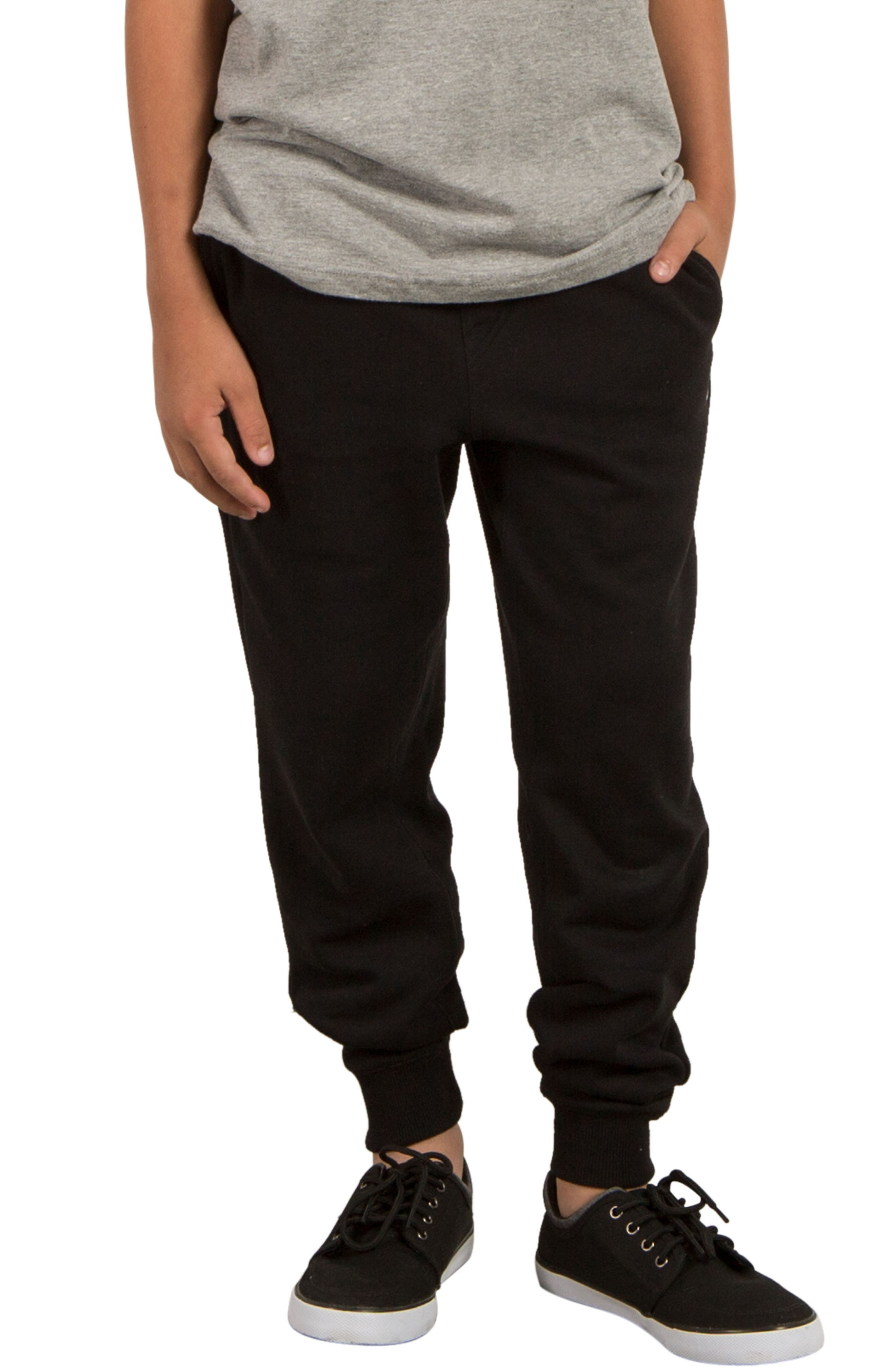 Alternate Image 1 Selected - Volcom Single Stone Fleece Sweatpants (Big Boys)