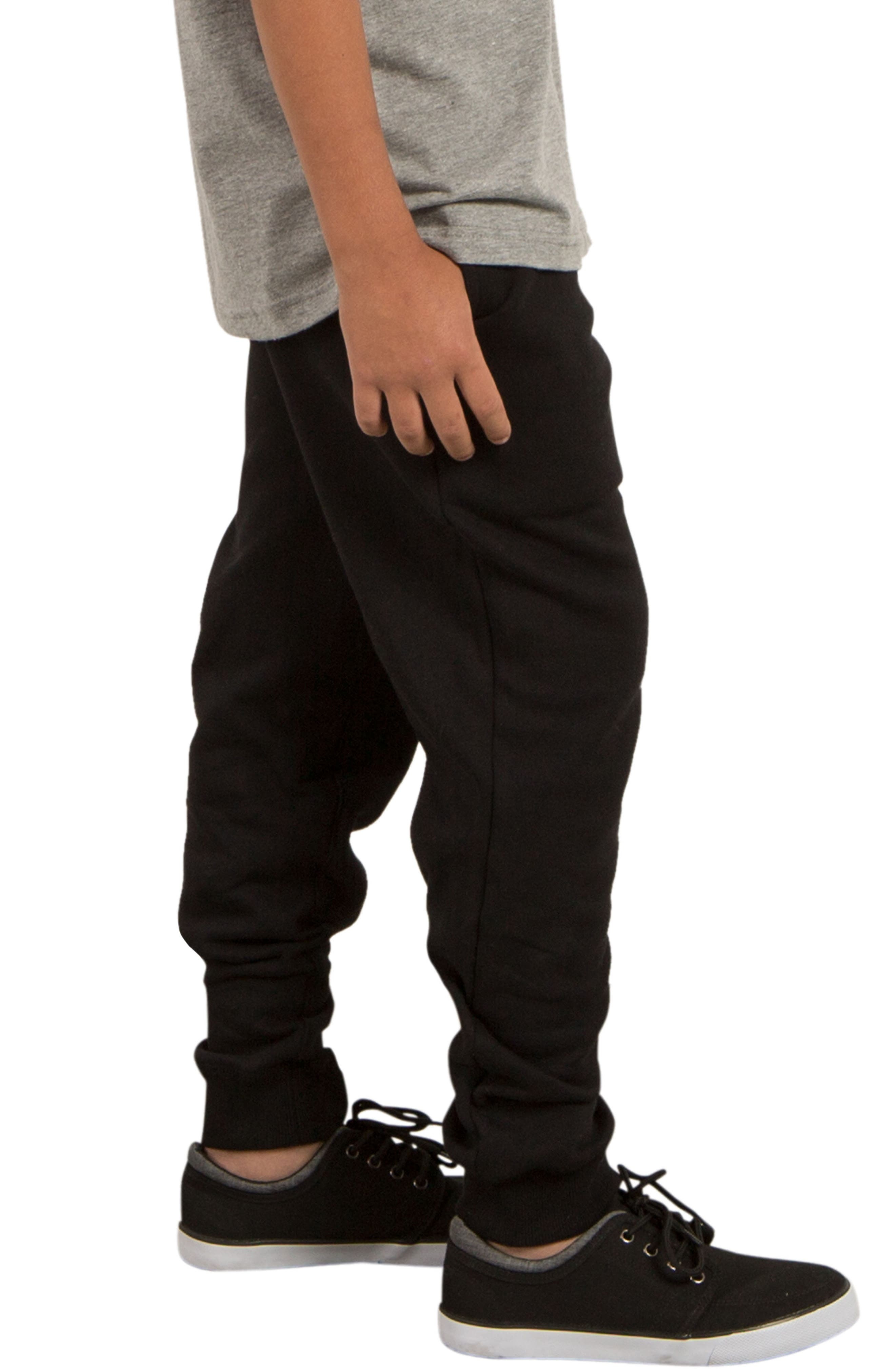 Alternate Image 3  - Volcom Single Stone Fleece Sweatpants (Big Boys)