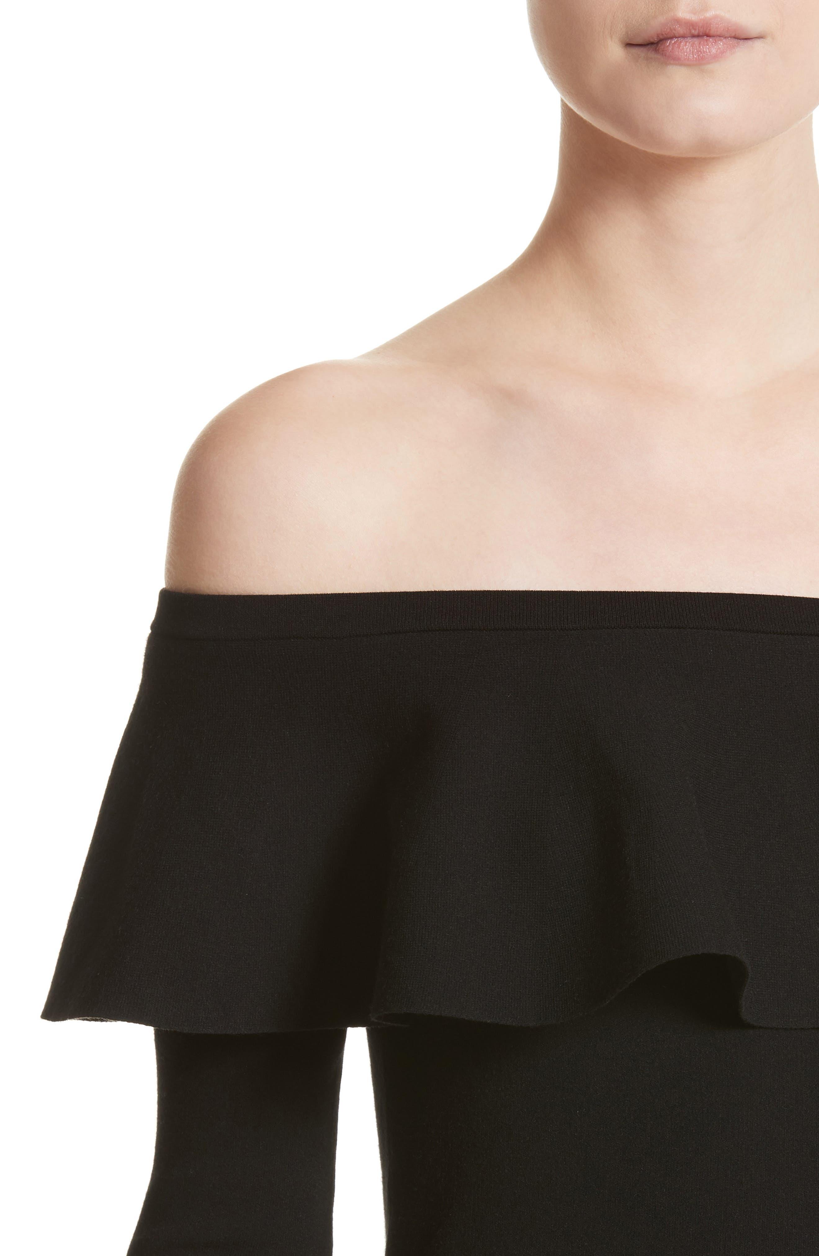 Alternate Image 6  - Michael Kors Off the Shoulder Sweater