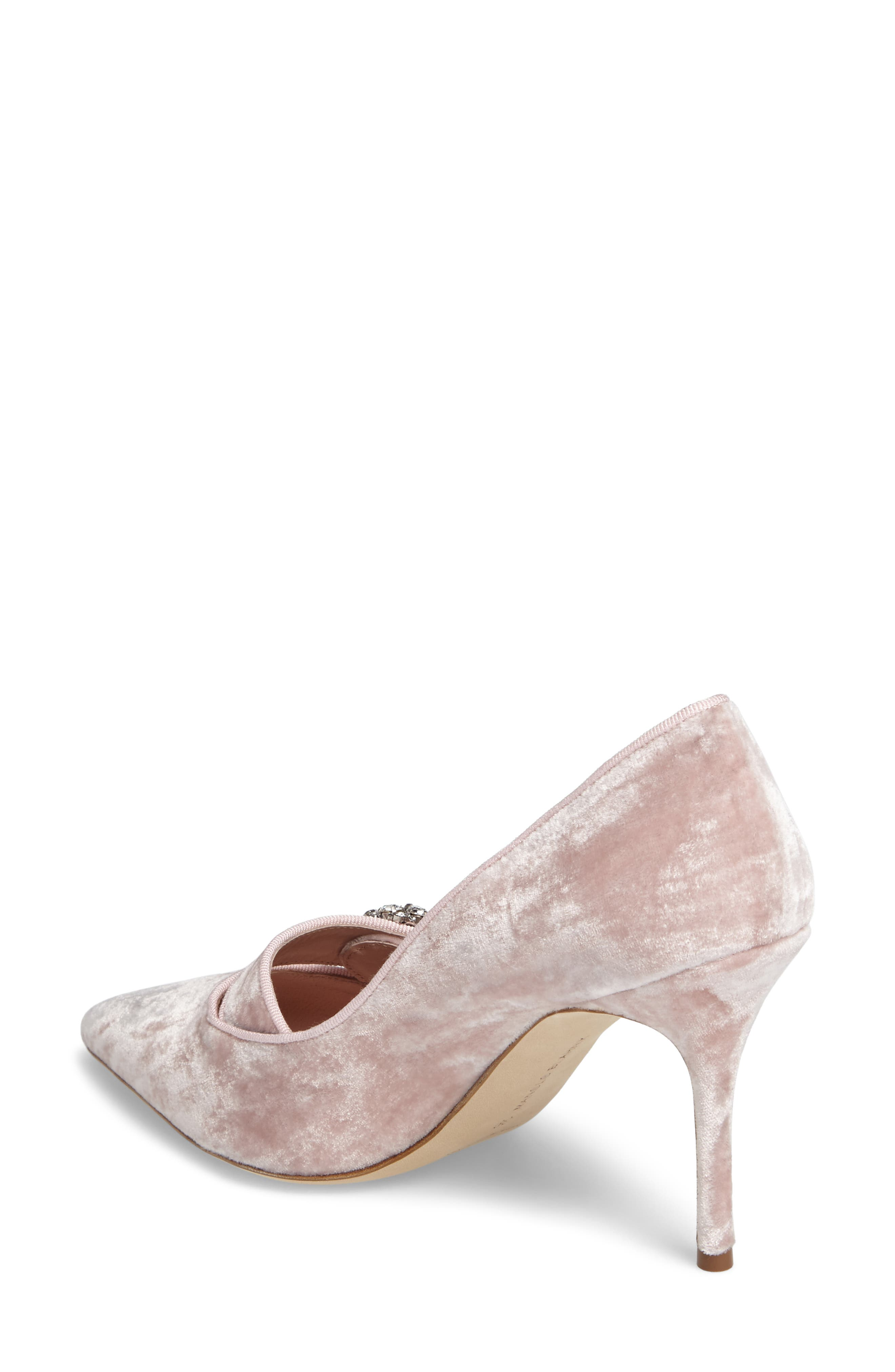 Decebalo Pump,                             Alternate thumbnail 2, color,                             Blush Velvet