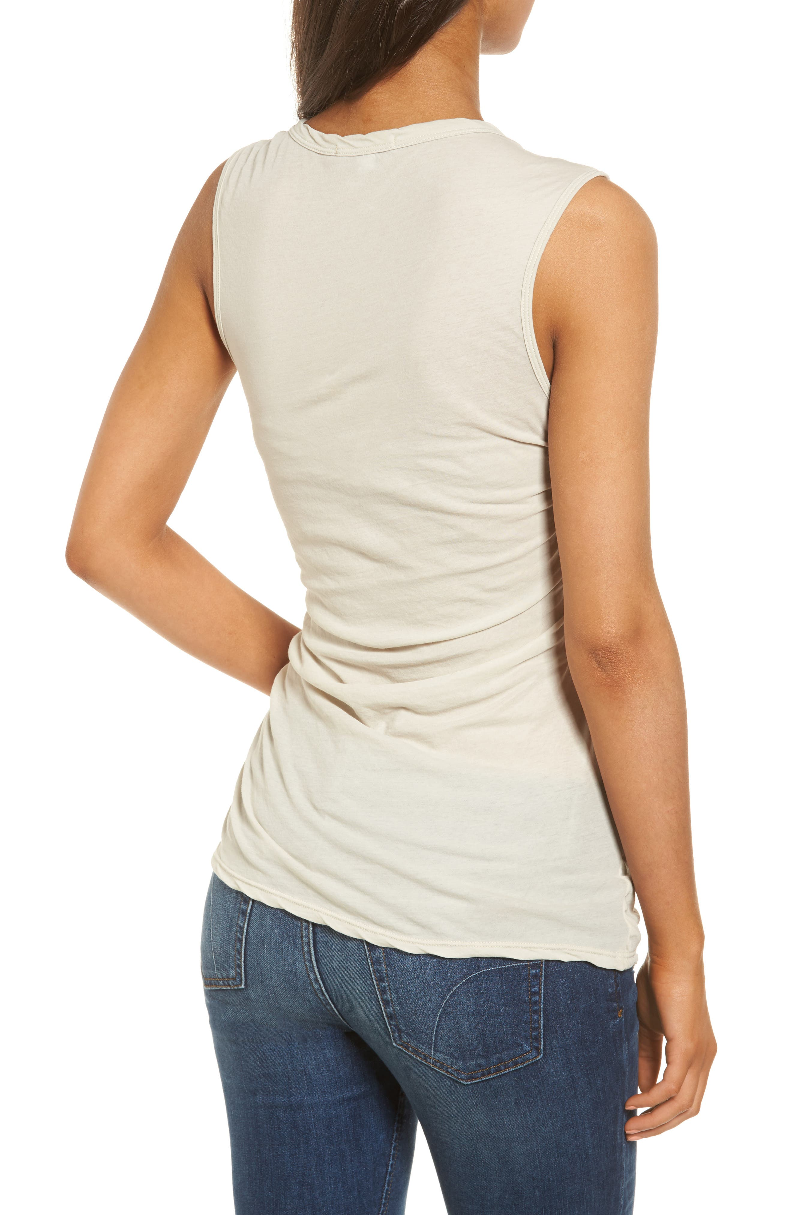 Alternate Image 2  - James Perse Twisted Jersey Tank