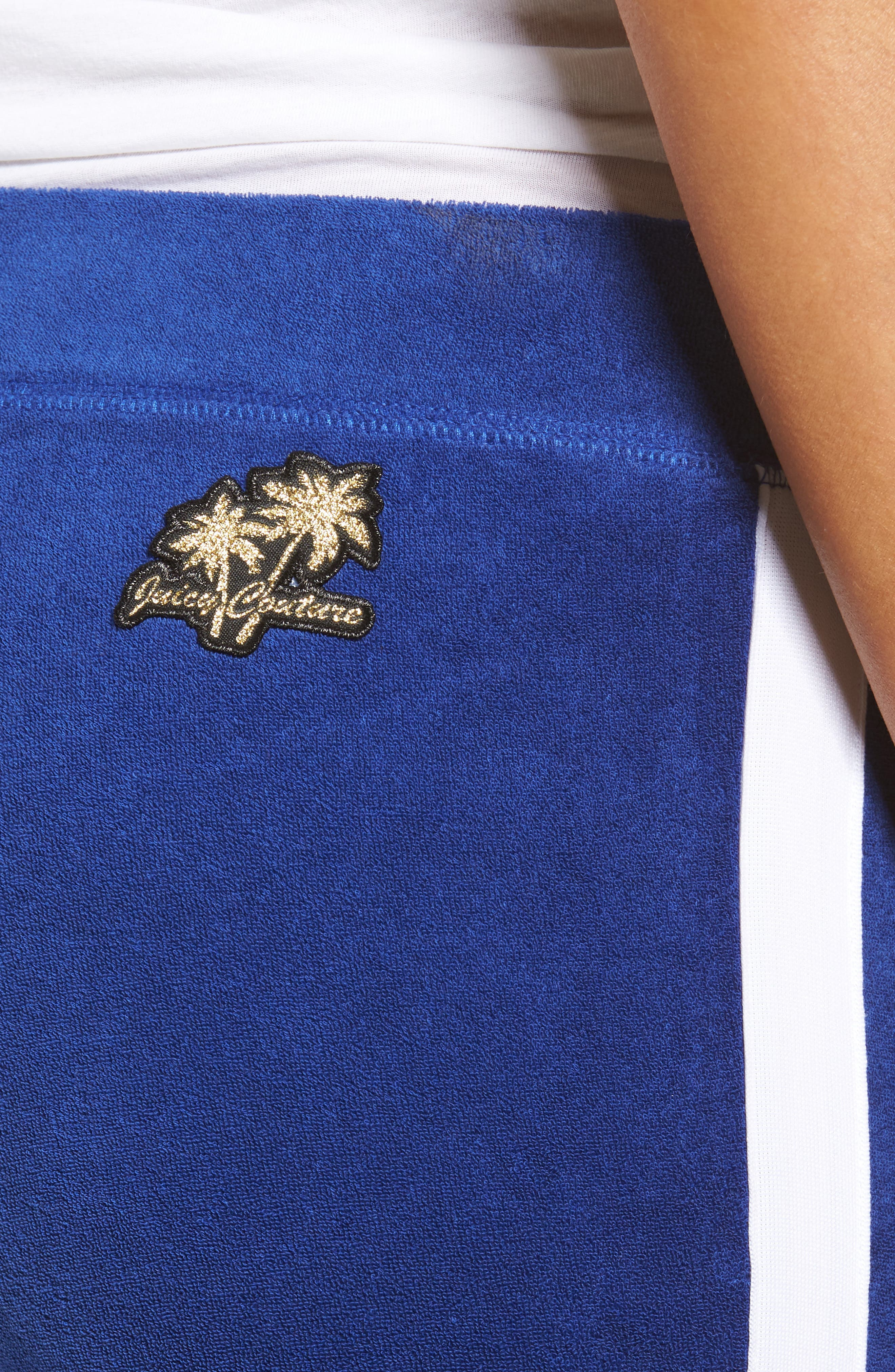 Alternate Image 4  - Juicy Couture Venice Beach Del Ray Microterry Pants