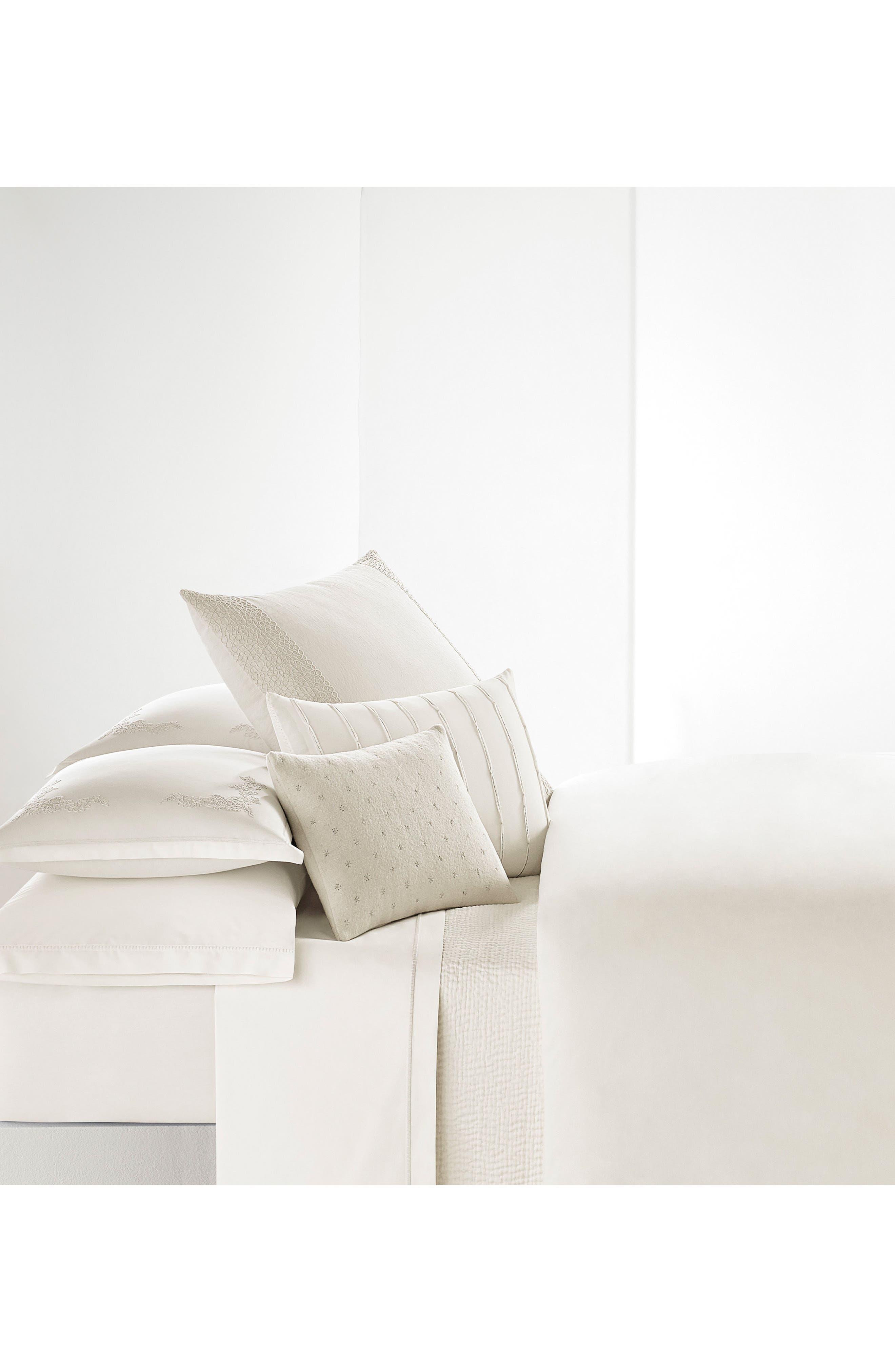 Passementerie Pillowcases,                             Alternate thumbnail 3, color,                             Natural Bone