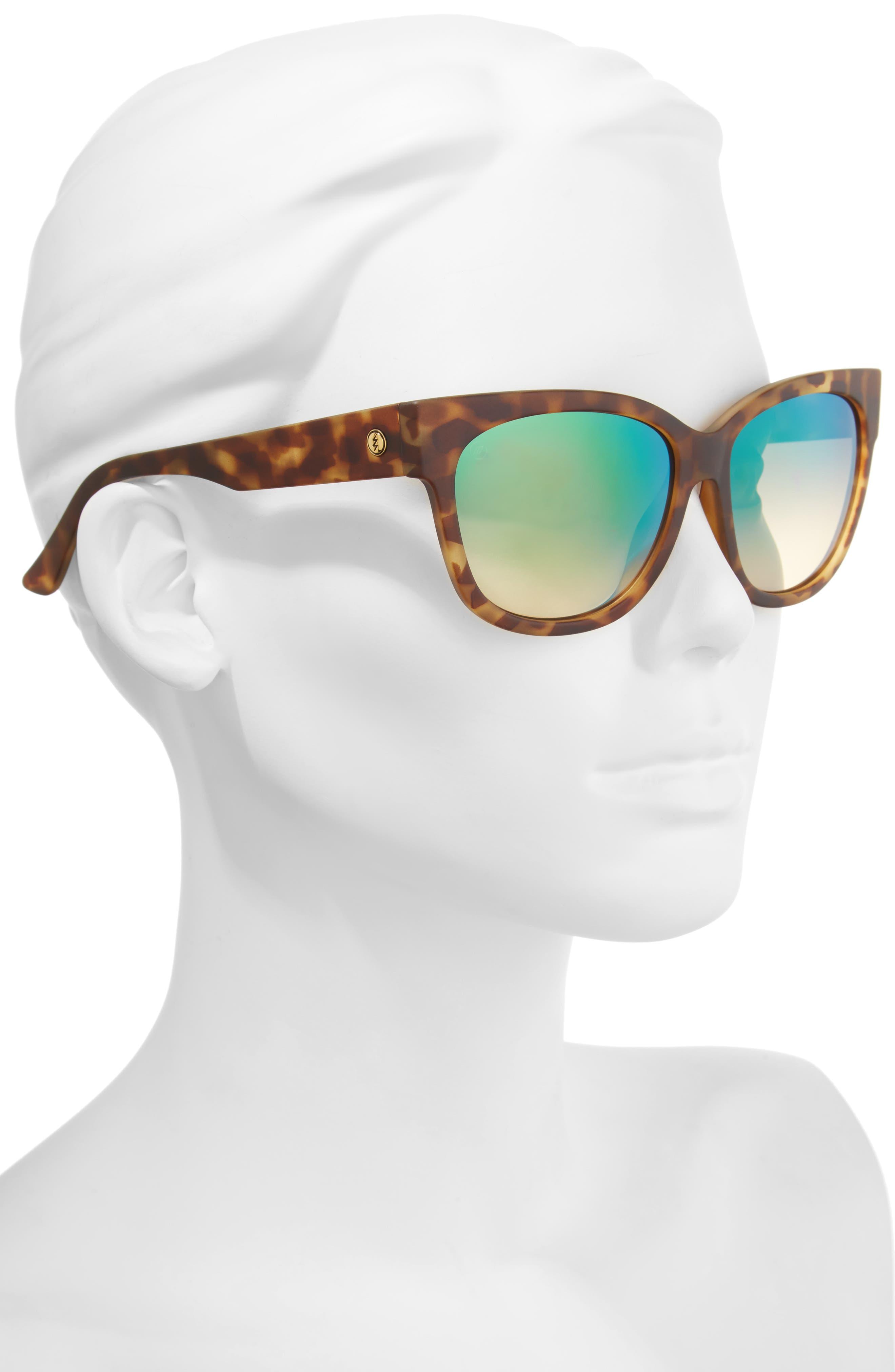 Alternate Image 2  - ELECTRIC 'Danger Cat' 58mm Cat Eye Sunglasses