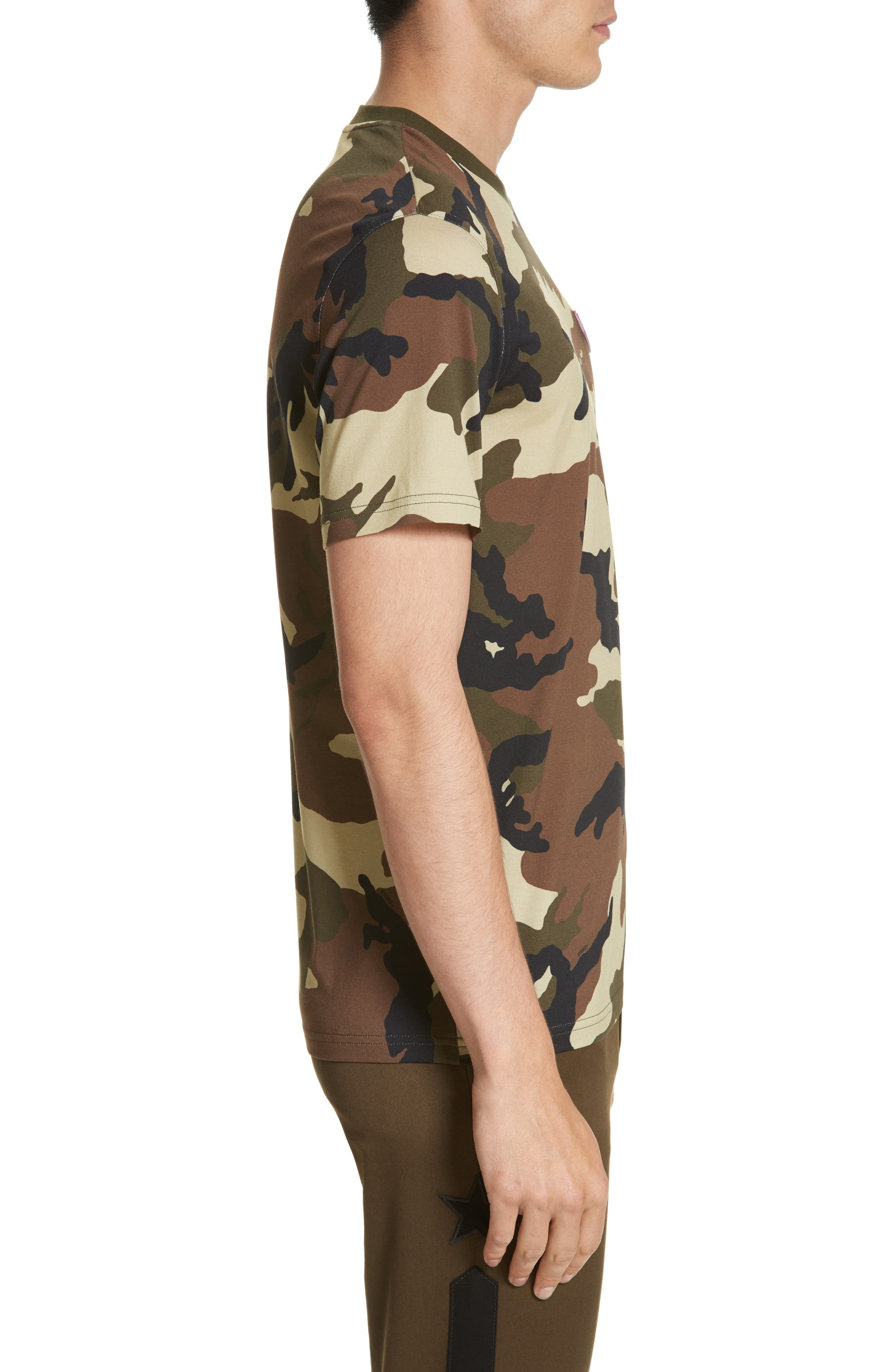 Alternate Image 3  - Givenchy Extra Trim Fit Camo Print T-Shirt