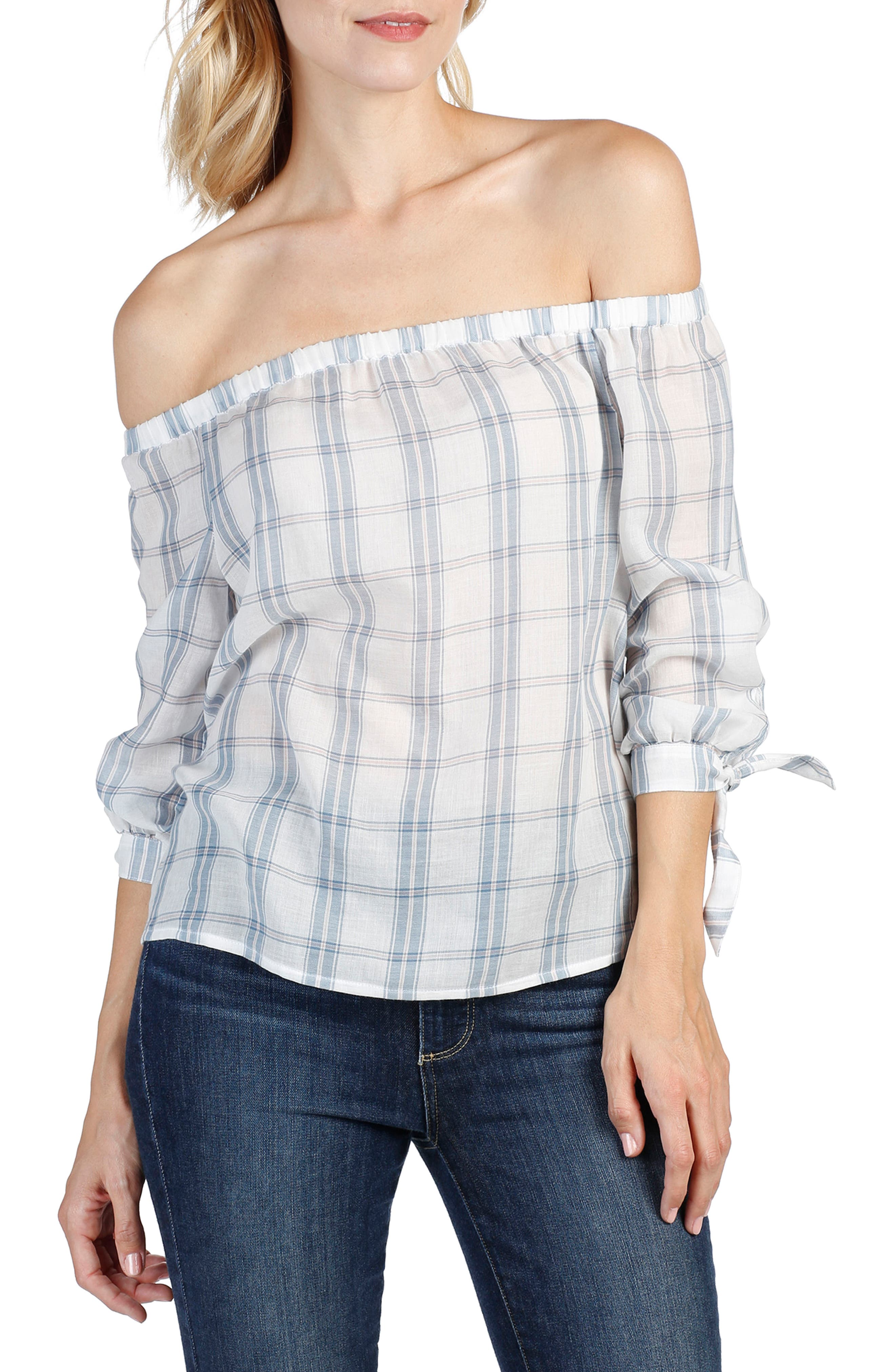 PAIGE Antonia Off the Shoulder Top