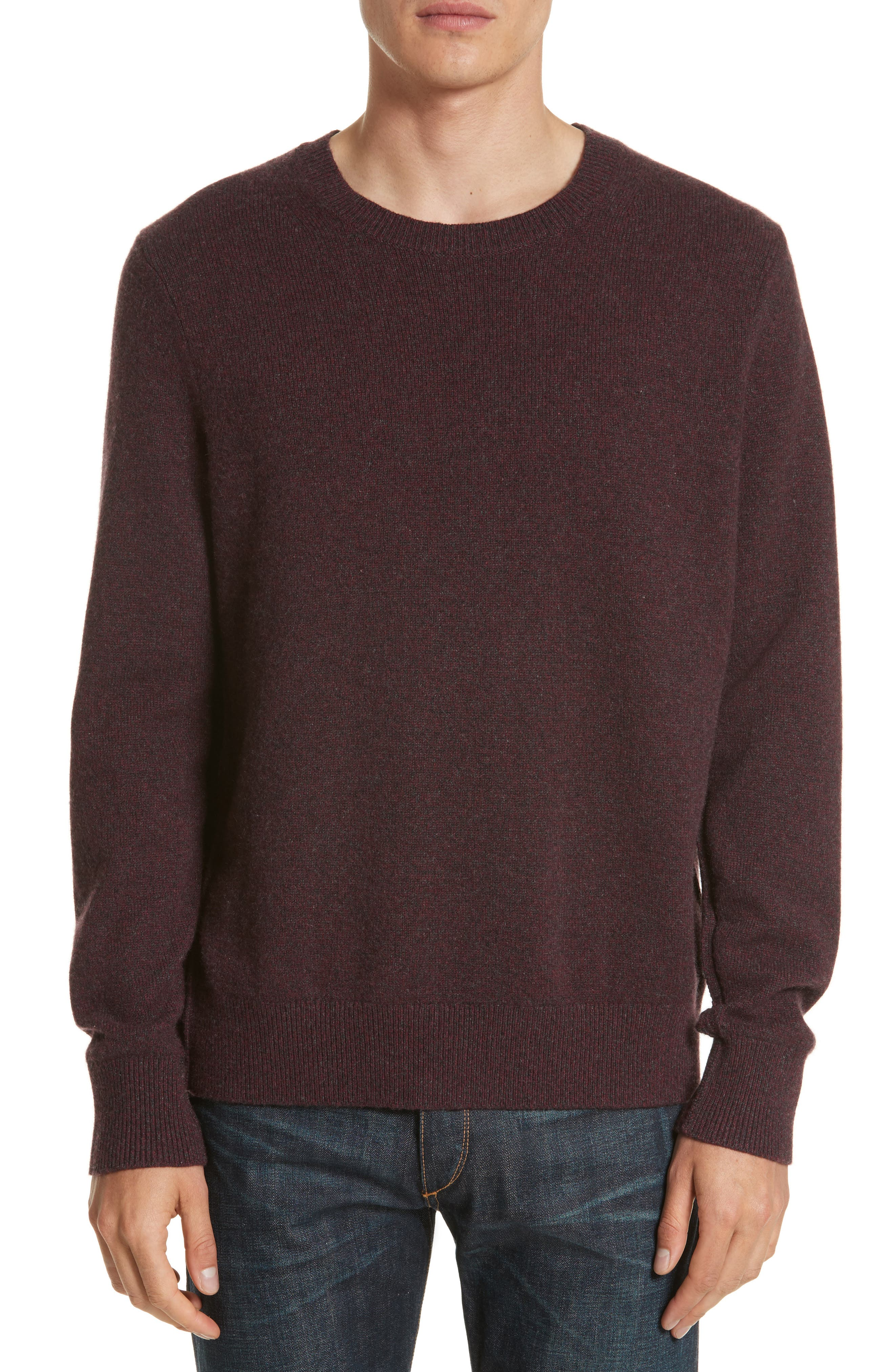 Holdon Cashmere Sweater,                         Main,                         color, Burgundy