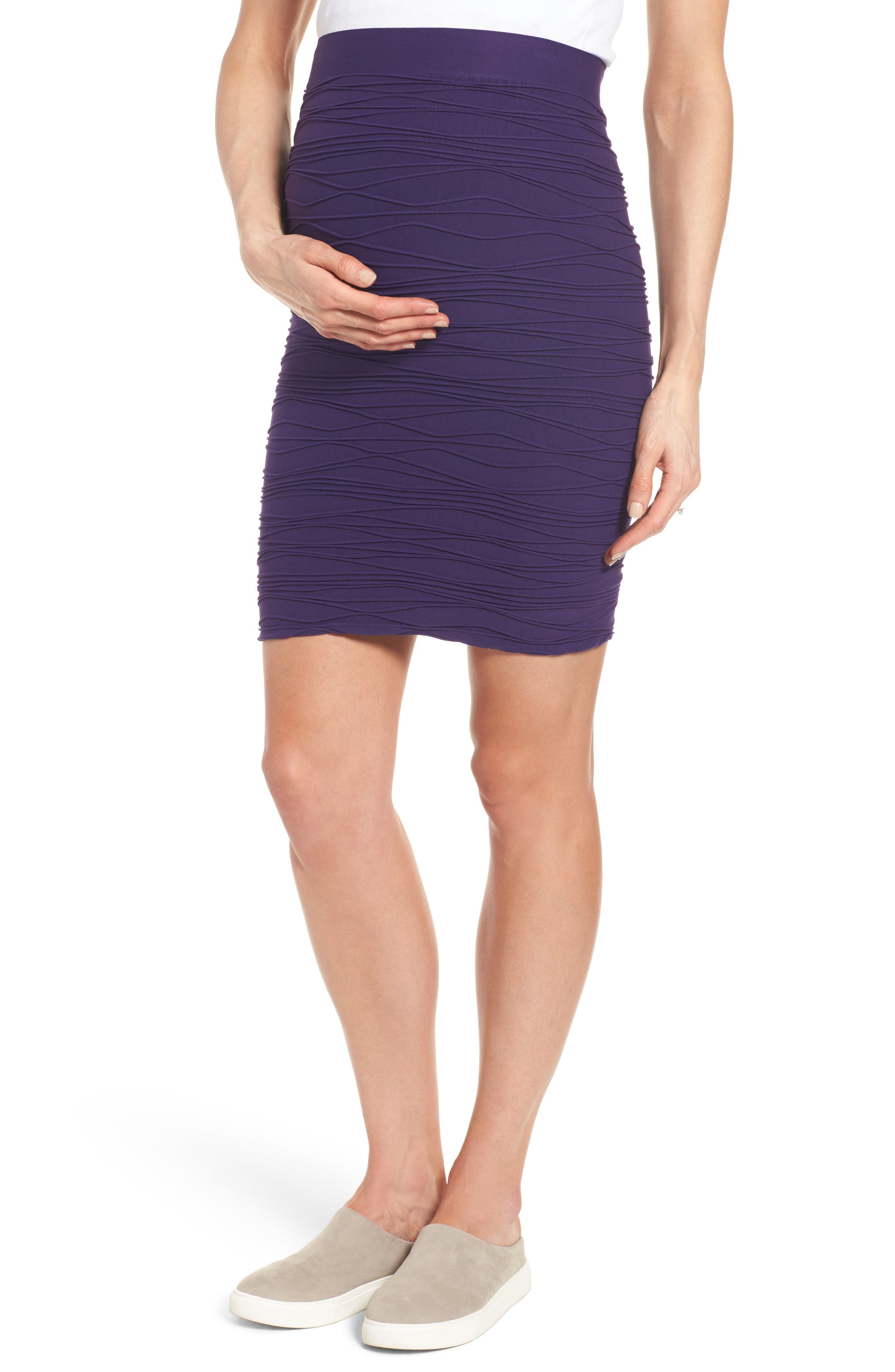Tees by Tina 'Line' Maternity Skirt