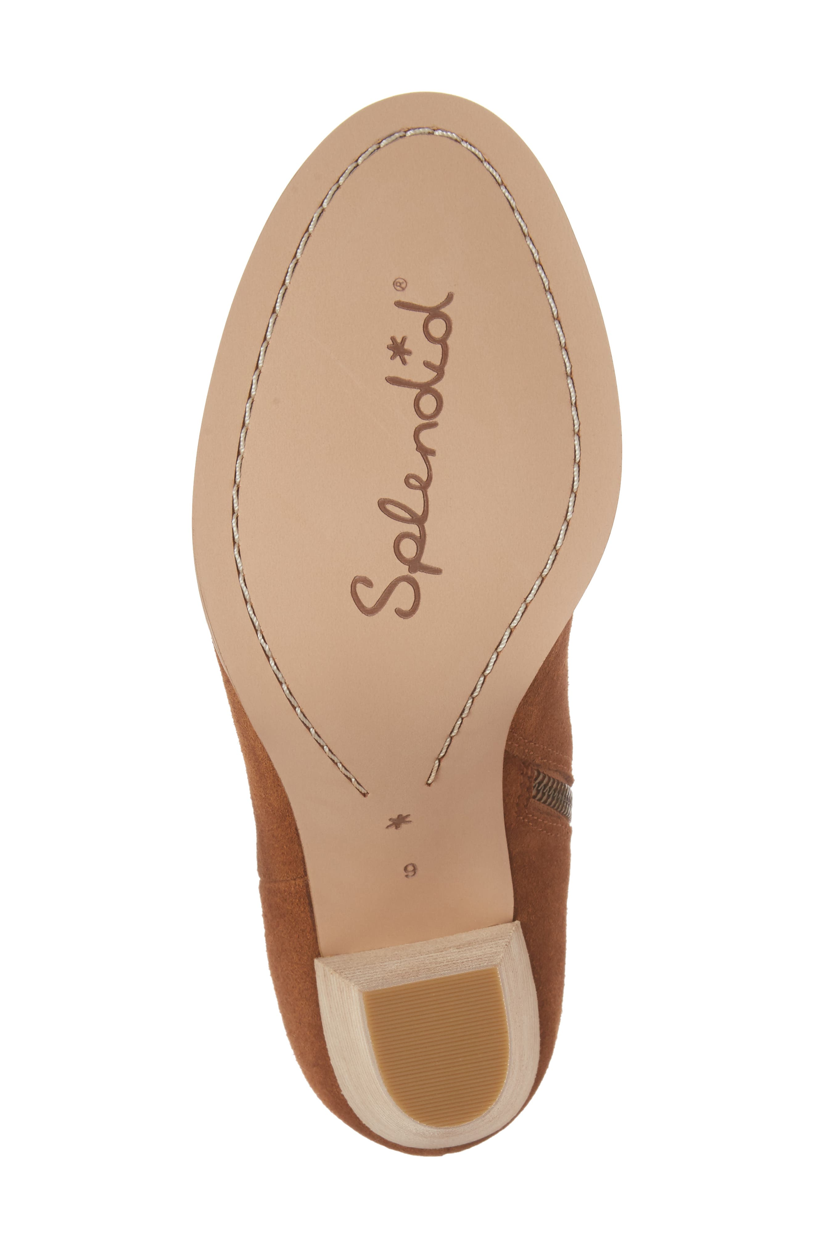 Daphne Bootie,                             Alternate thumbnail 6, color,                             Whiskey Suede