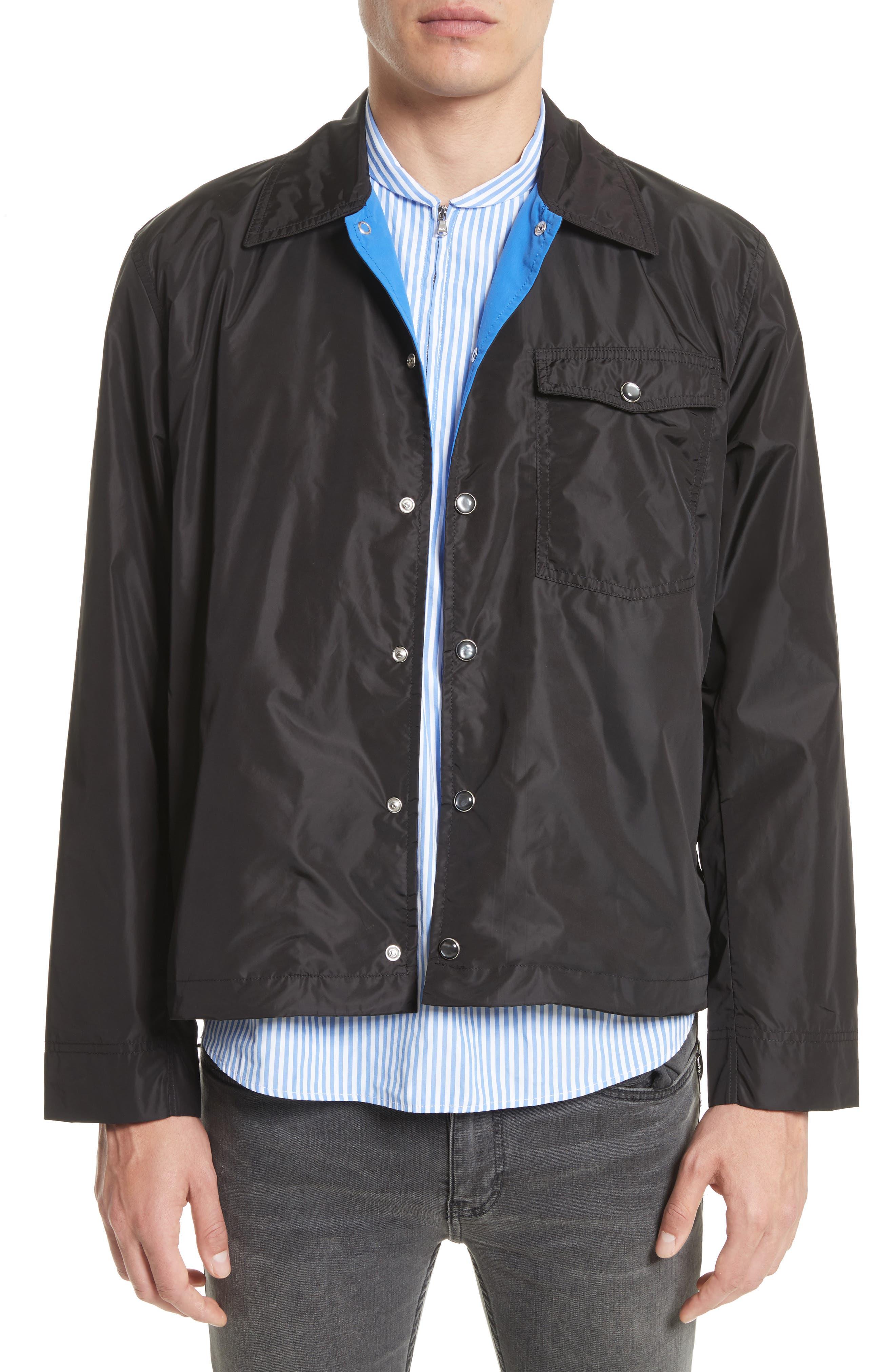 Cowboy Coach's Jacket,                         Main,                         color, Black