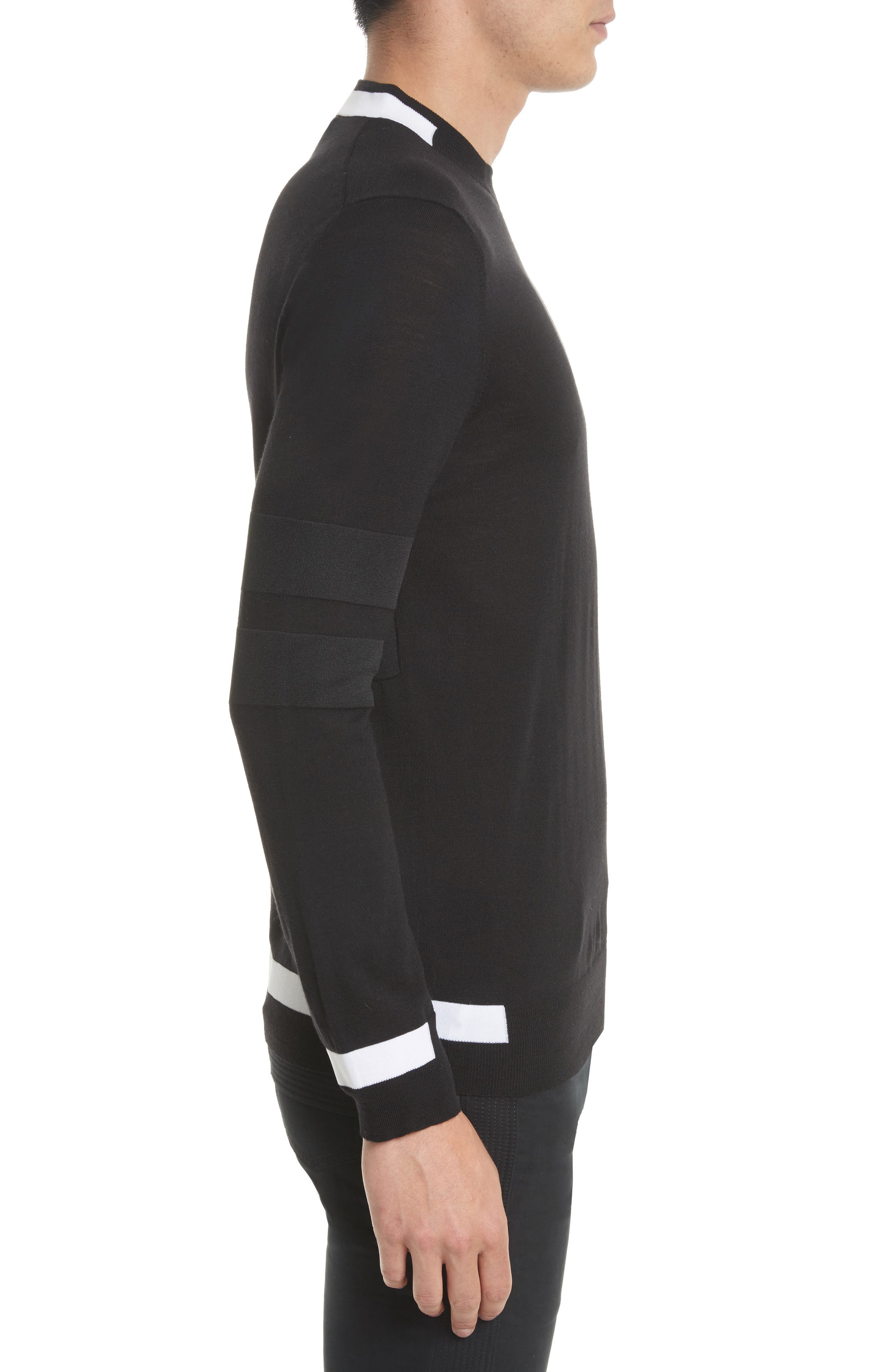 Alternate Image 3  - Givenchy Contrast Bands Wool Sweater