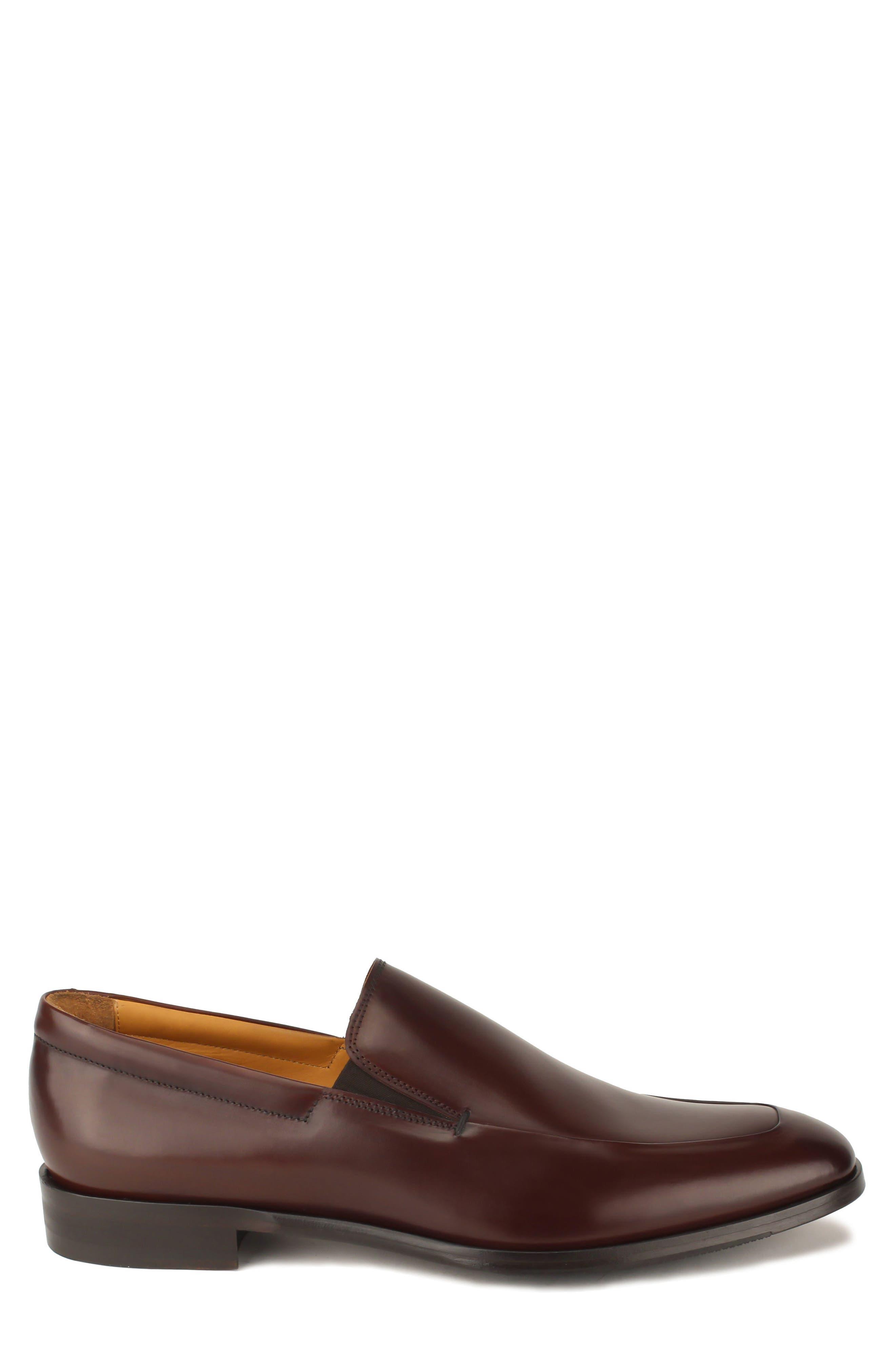 Brighton II Venetian Loafer,                             Alternate thumbnail 3, color,                             Bourbon Leather