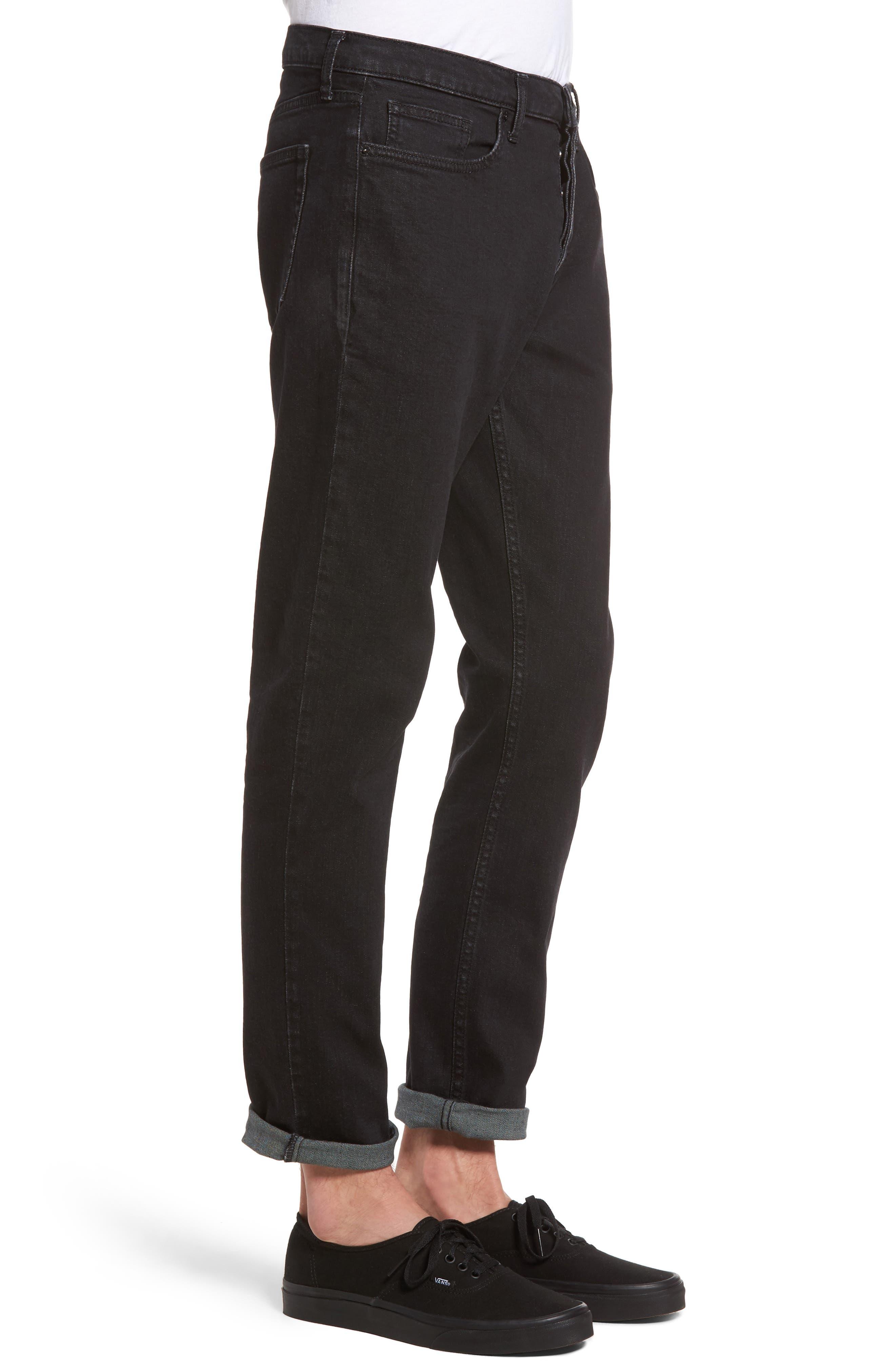 Alternate Image 4  - Topman Washed Slim Fit Jeans