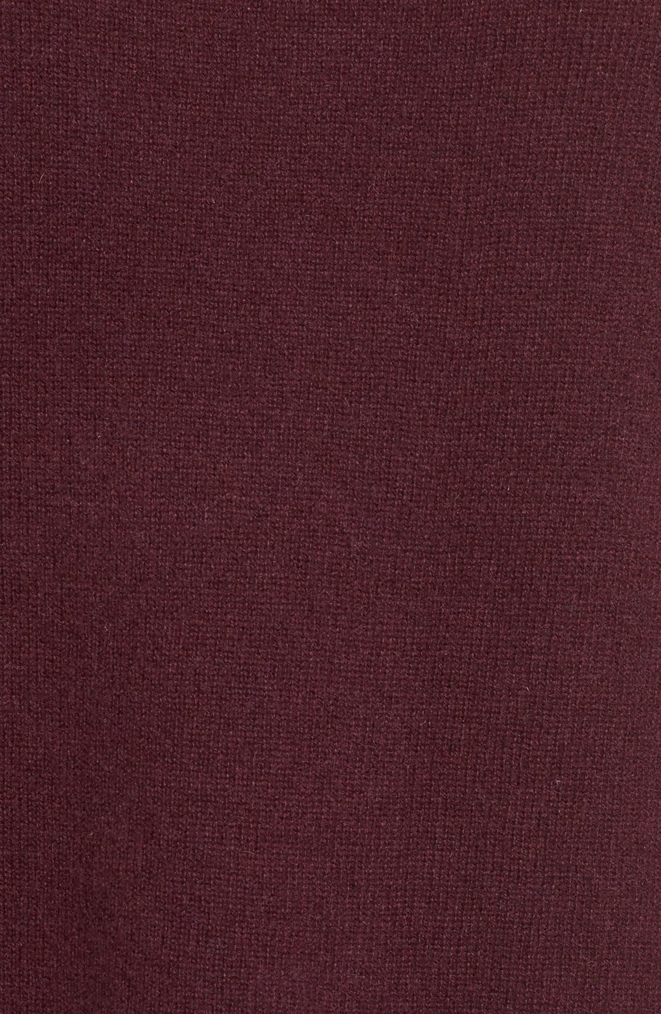 Alternate Image 5  - Halogen® Side Tie Cashmere Sweater (Regular & Petite)