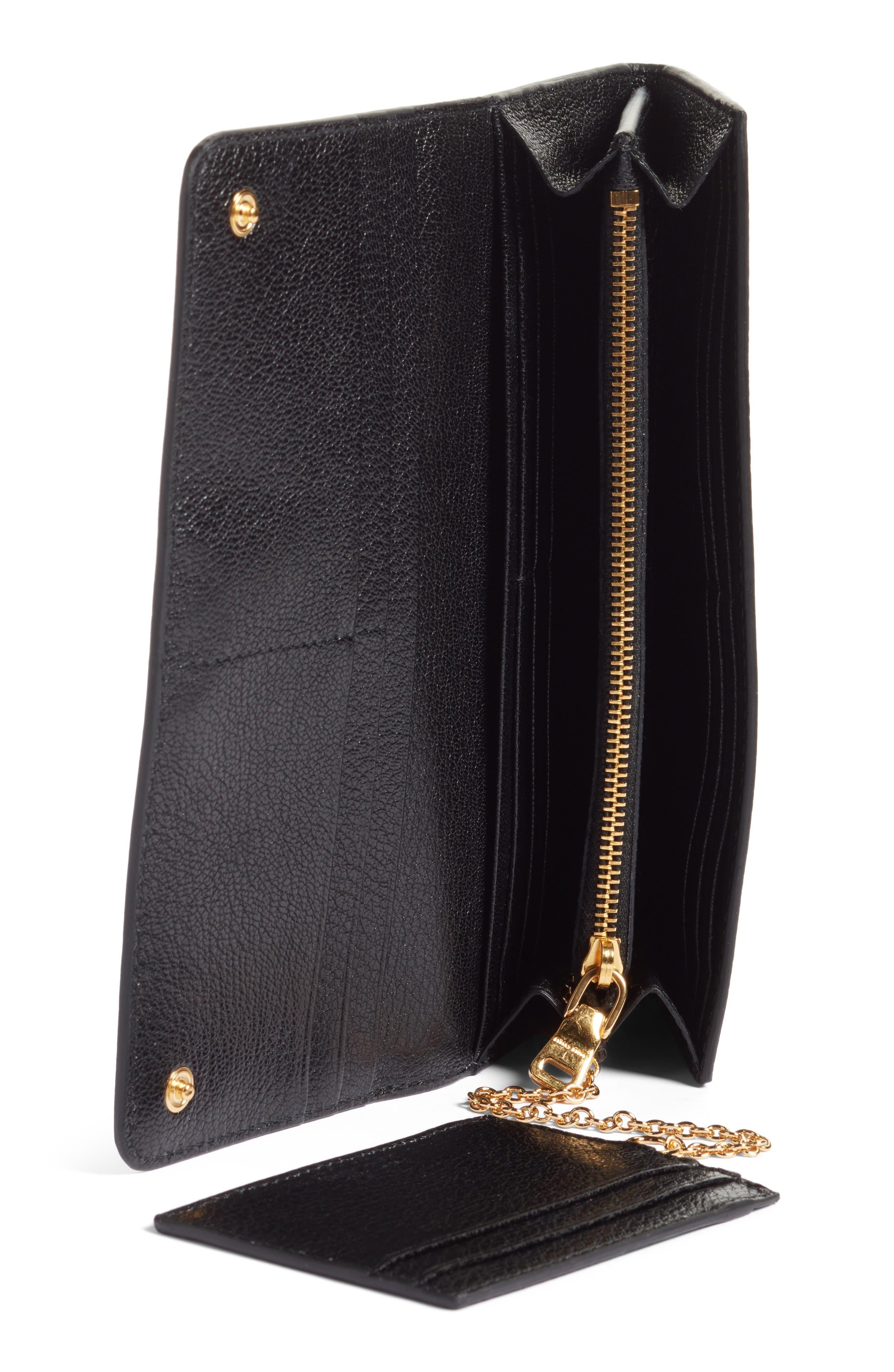 Alternate Image 2  - Miu Miu Madras Leather Continental Wallet