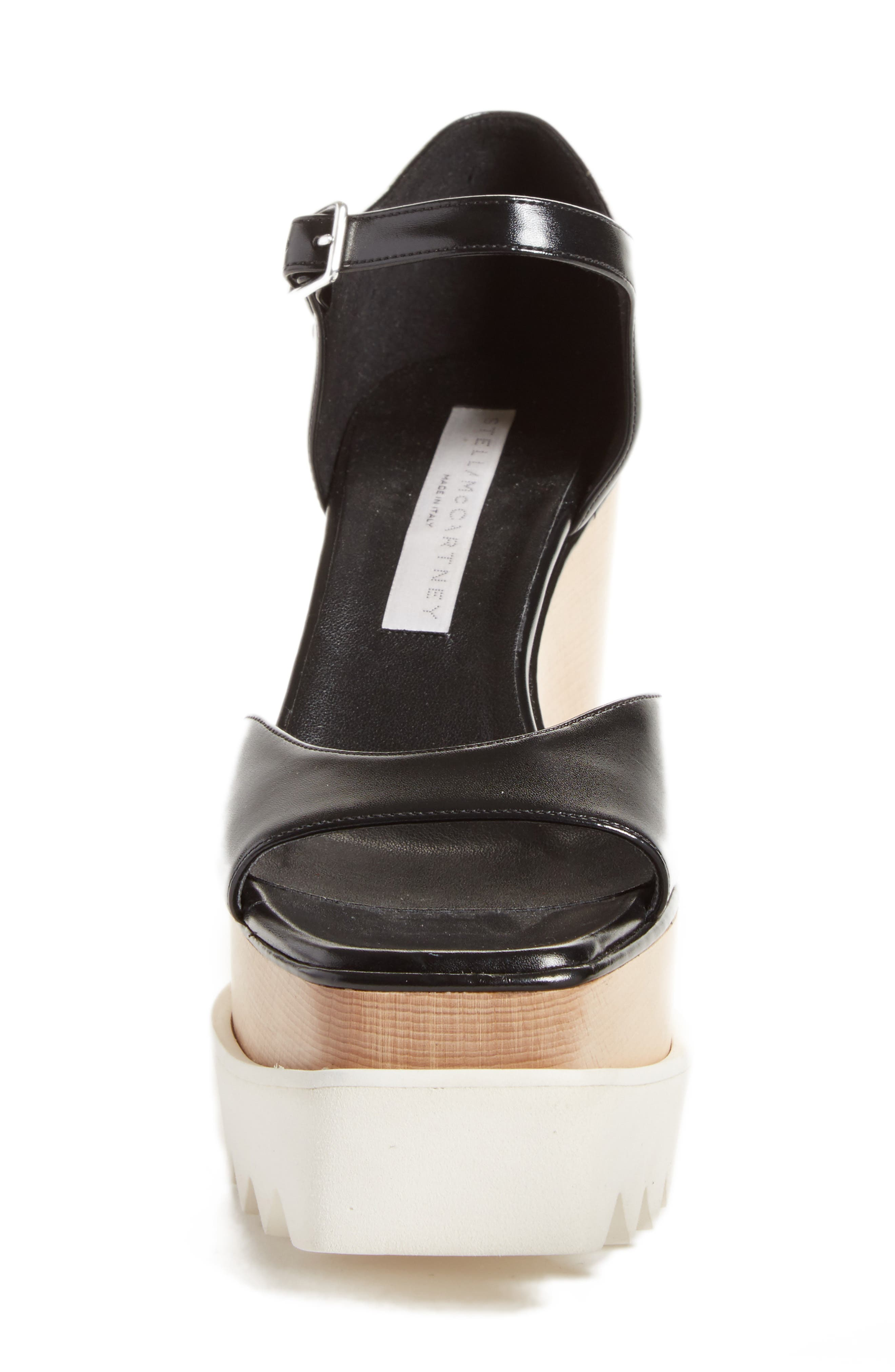 Alternate Image 4  - Stella McCartney Platform Wedge Sandal (Women)