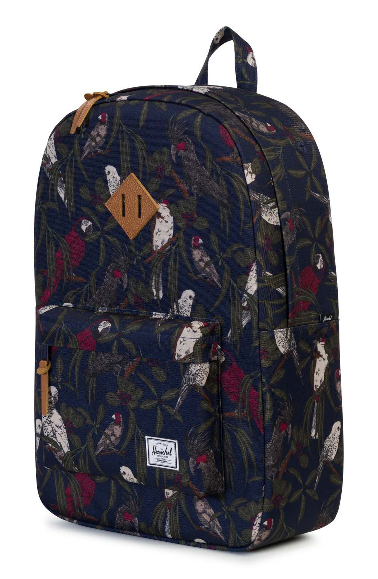 Heritage Backpack,                             Alternate thumbnail 4, color,                             Peacoat Parlour
