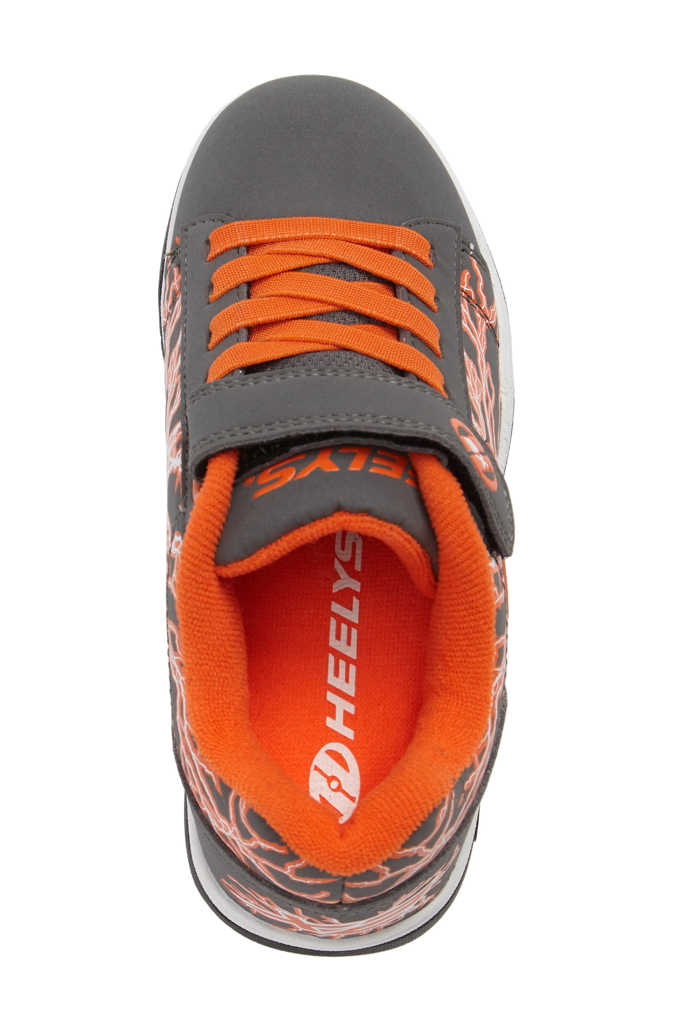 'Dual Up X2' Sneaker,                             Alternate thumbnail 5, color,                             Charcoal/ Orange/ Electricity