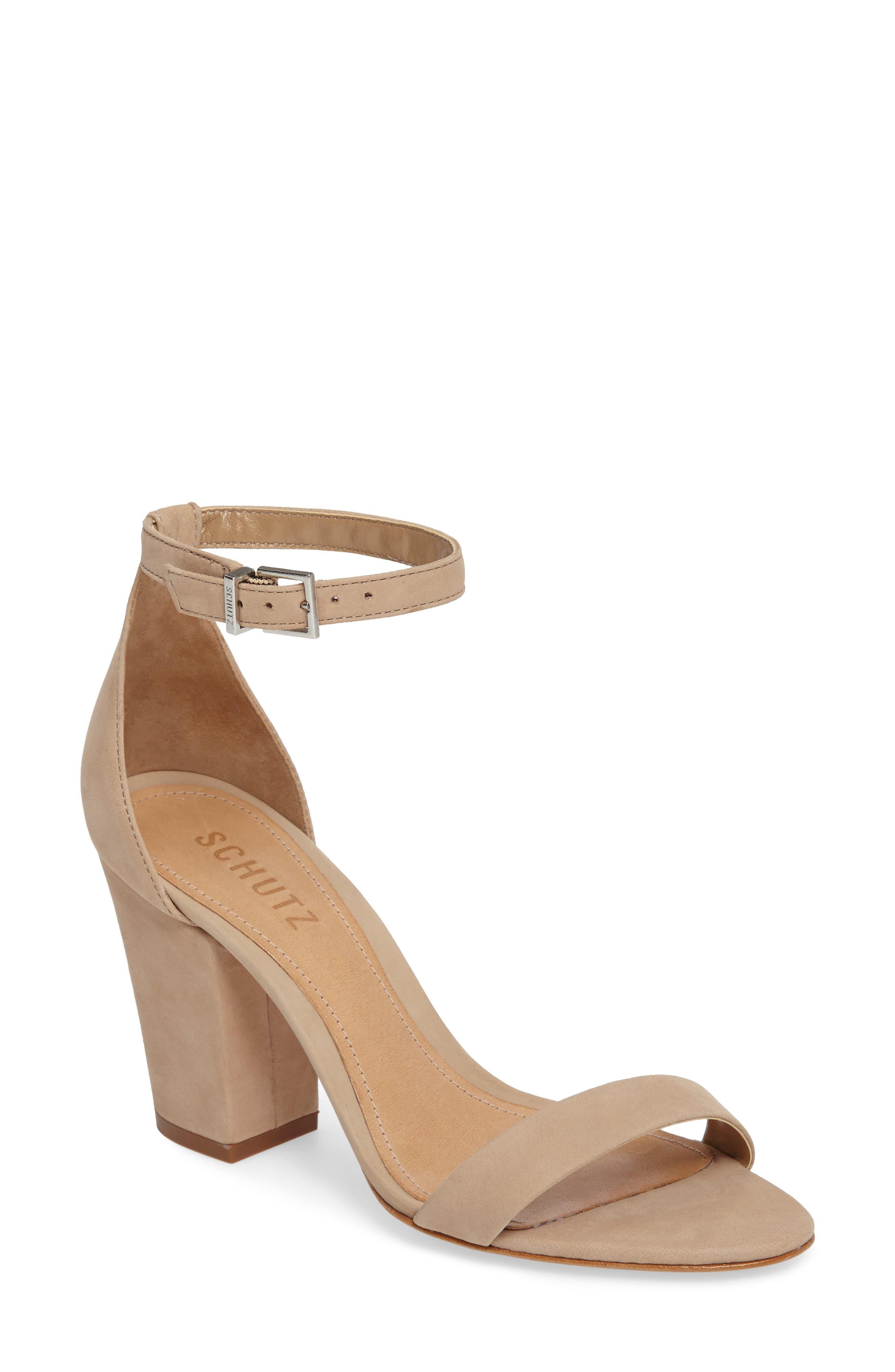 d381bb32d6e Schutz Block-Heel Sandals for Women