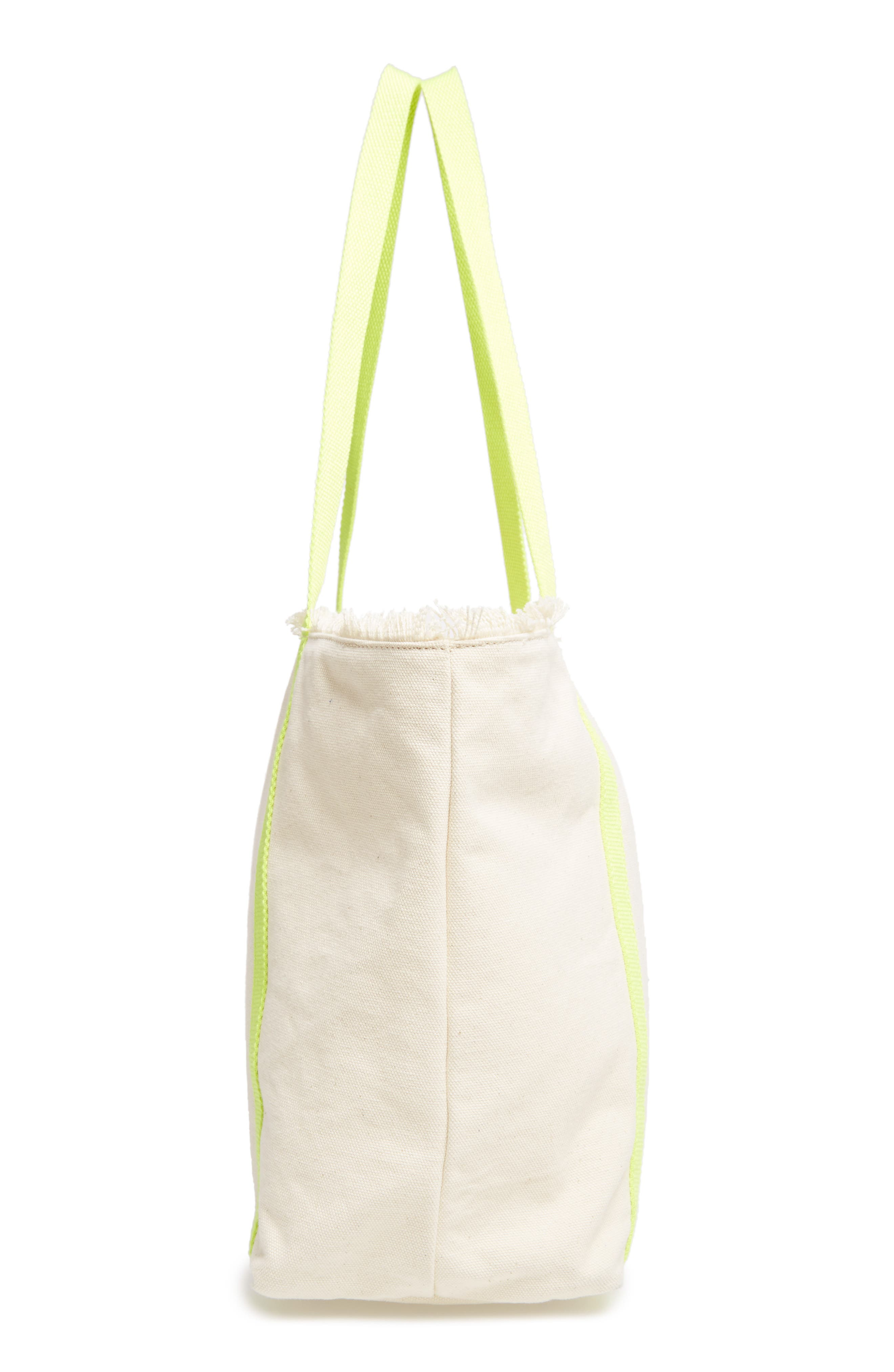 Alternate Image 5  - Milly Canvas Tote
