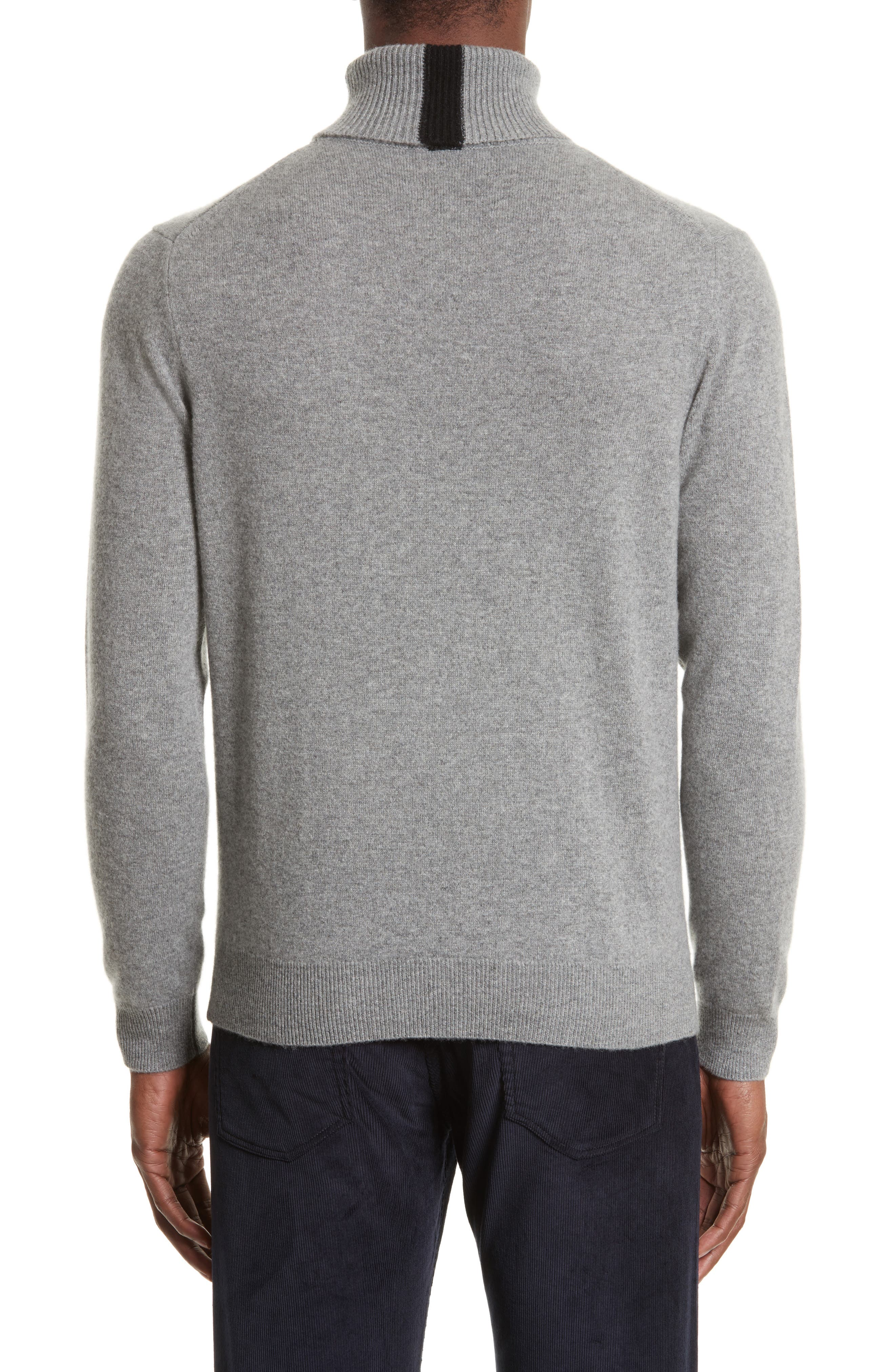 Turtleneck Sweater,                             Alternate thumbnail 2, color,                             Grey
