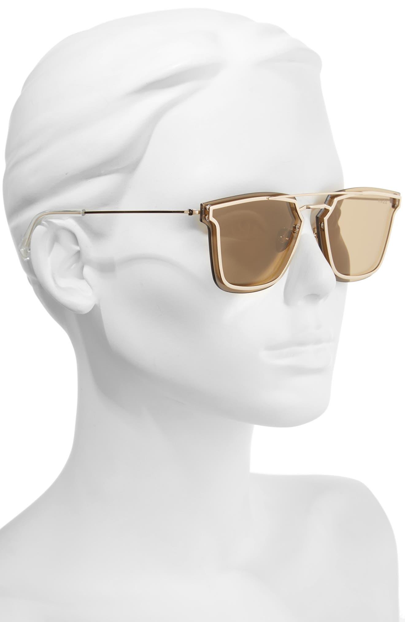 Alternate Image 2  - HAZE Bond 67mm Oversize Mirrored Sunglasses