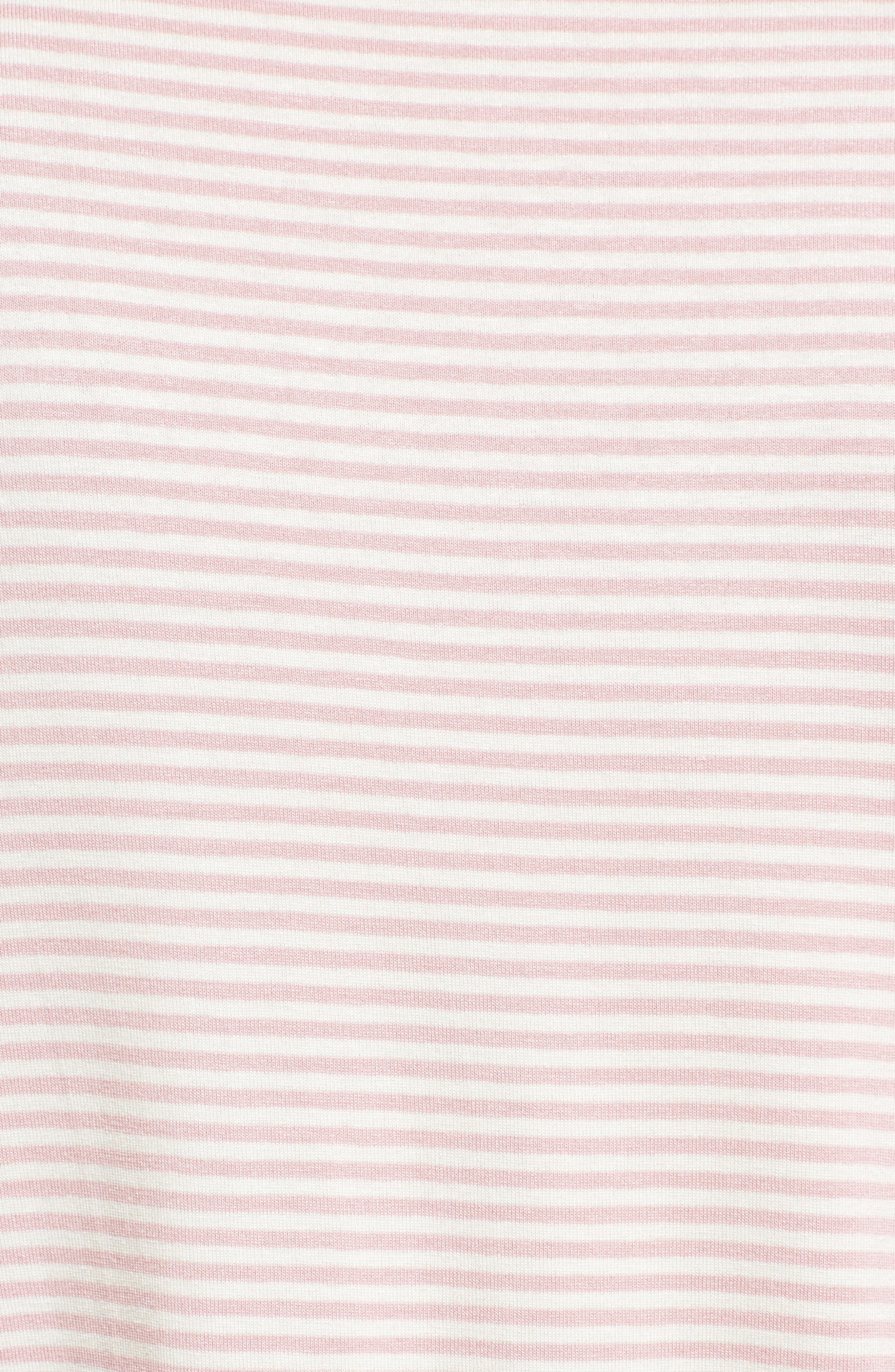Alternate Image 5  - Bobeau Bell Sleeve Tie Front Top (Regular & Petite)