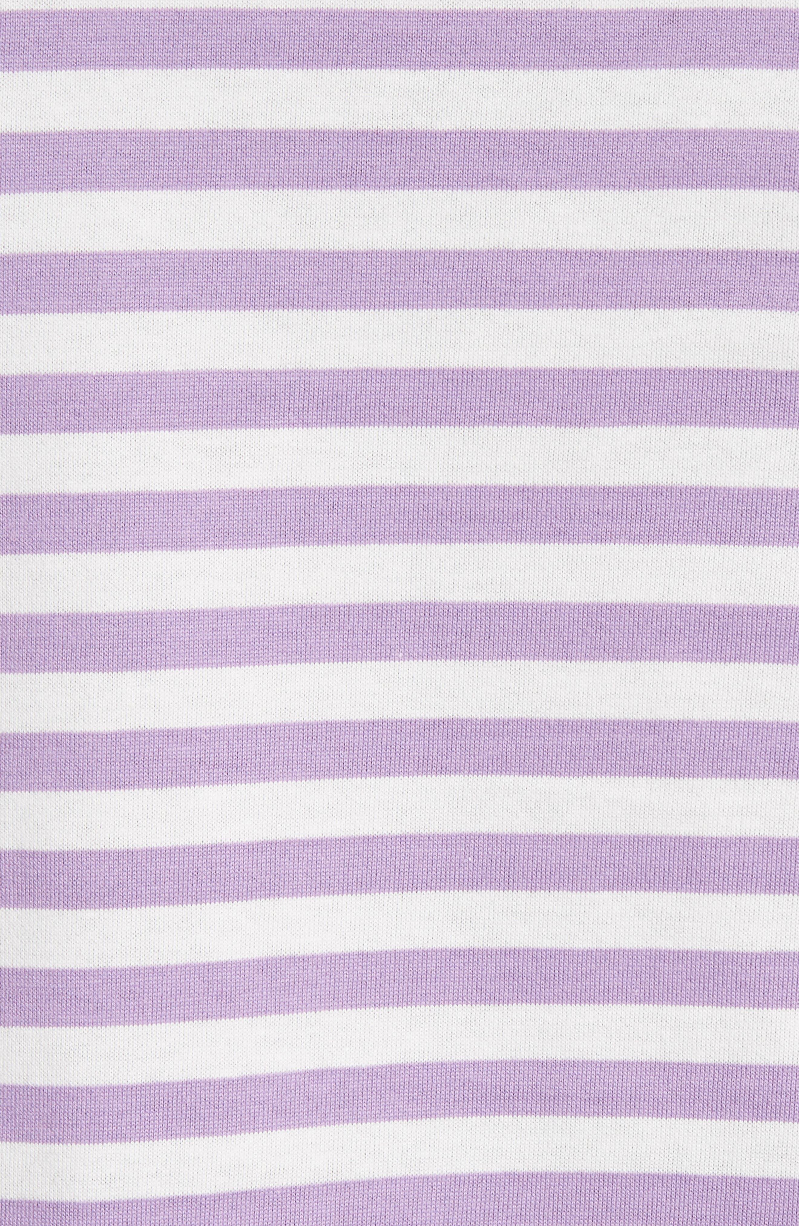 Alternate Image 5  - Comme des Garçons PLAY Long Sleeve Stripe Crewneck T-Shirt