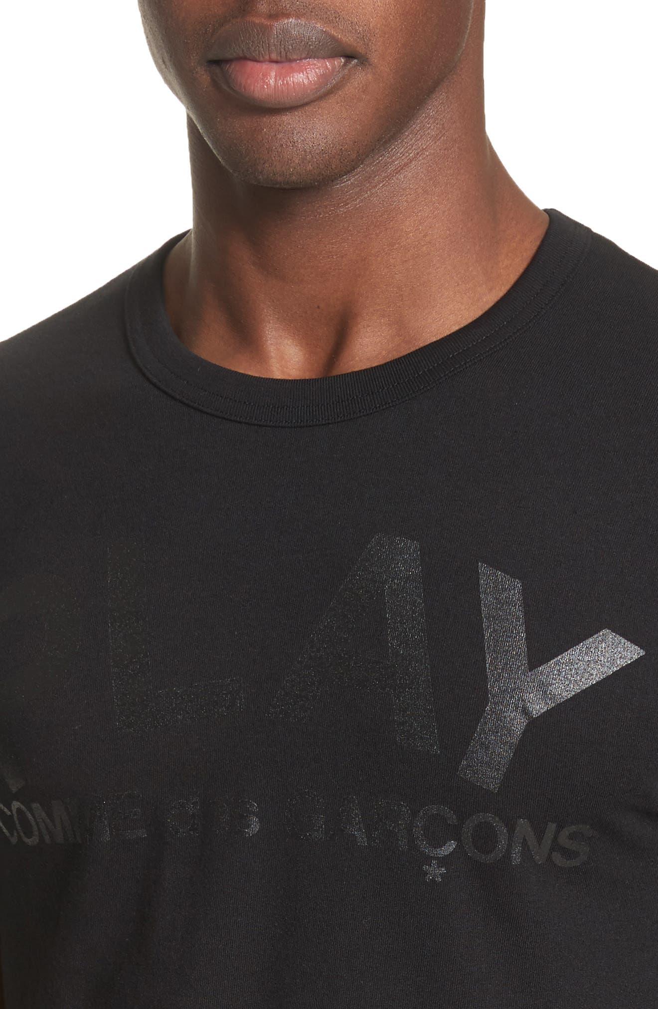 Alternate Image 4  - Comme des Garçons PLAY Graphic T-Shirt