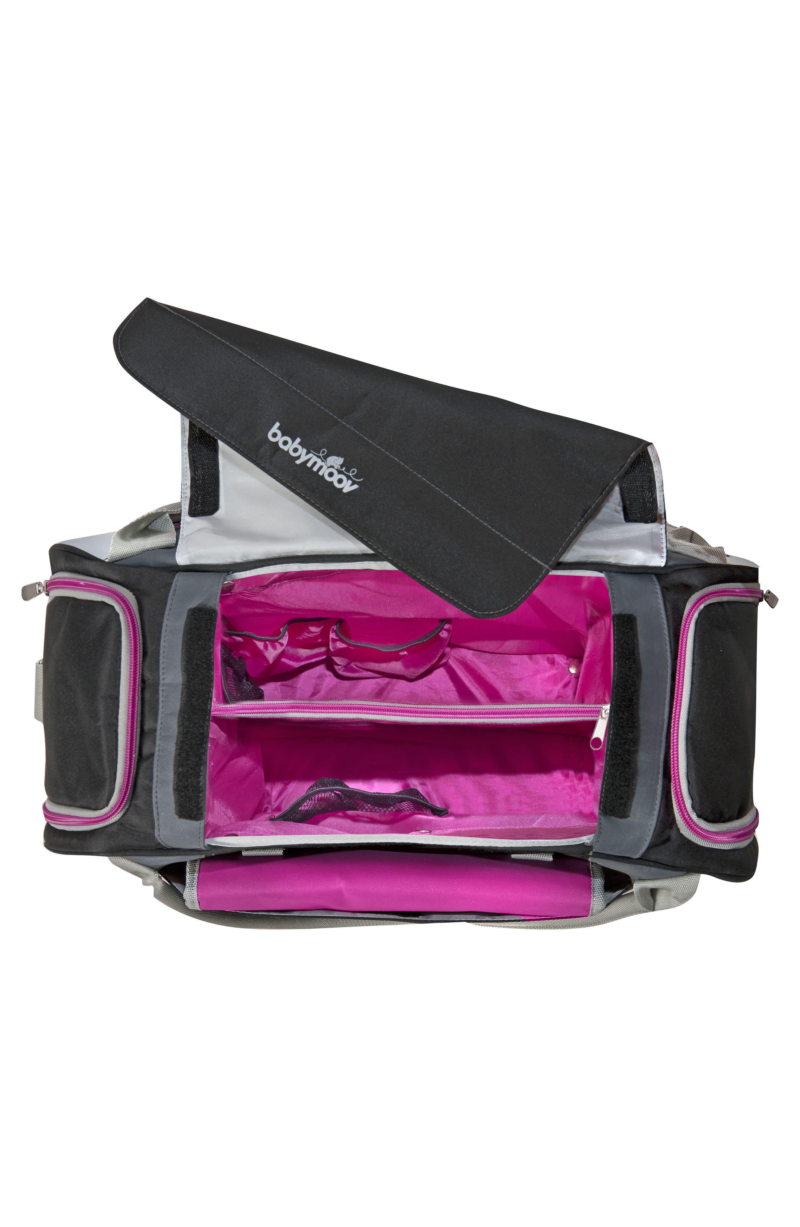 Sport Style Diaper Bag,                             Alternate thumbnail 2, color,                             Hibiscus