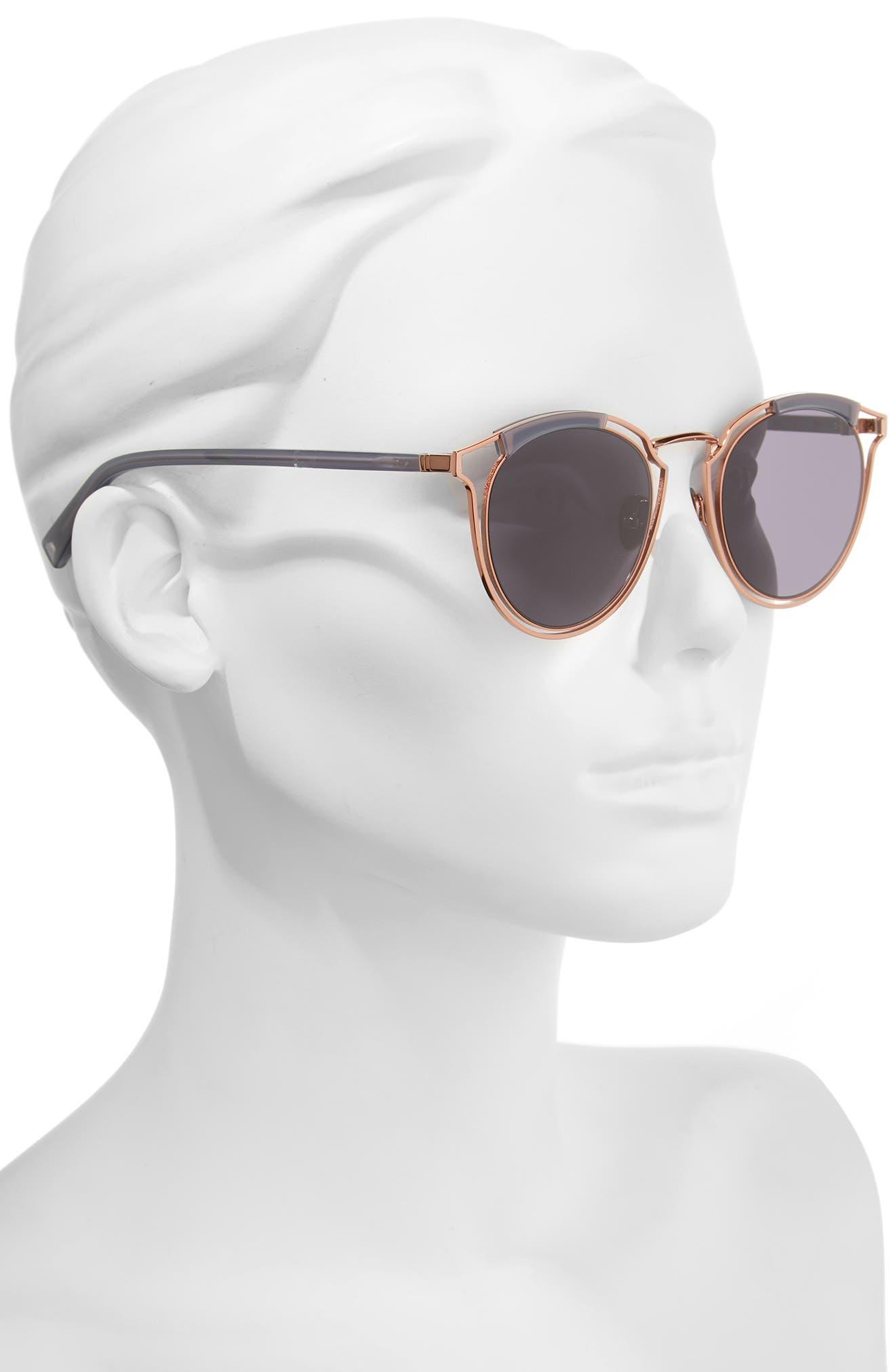 Alternate Image 2  - HAZE Edge X 50mm Modified Round Sunglasses