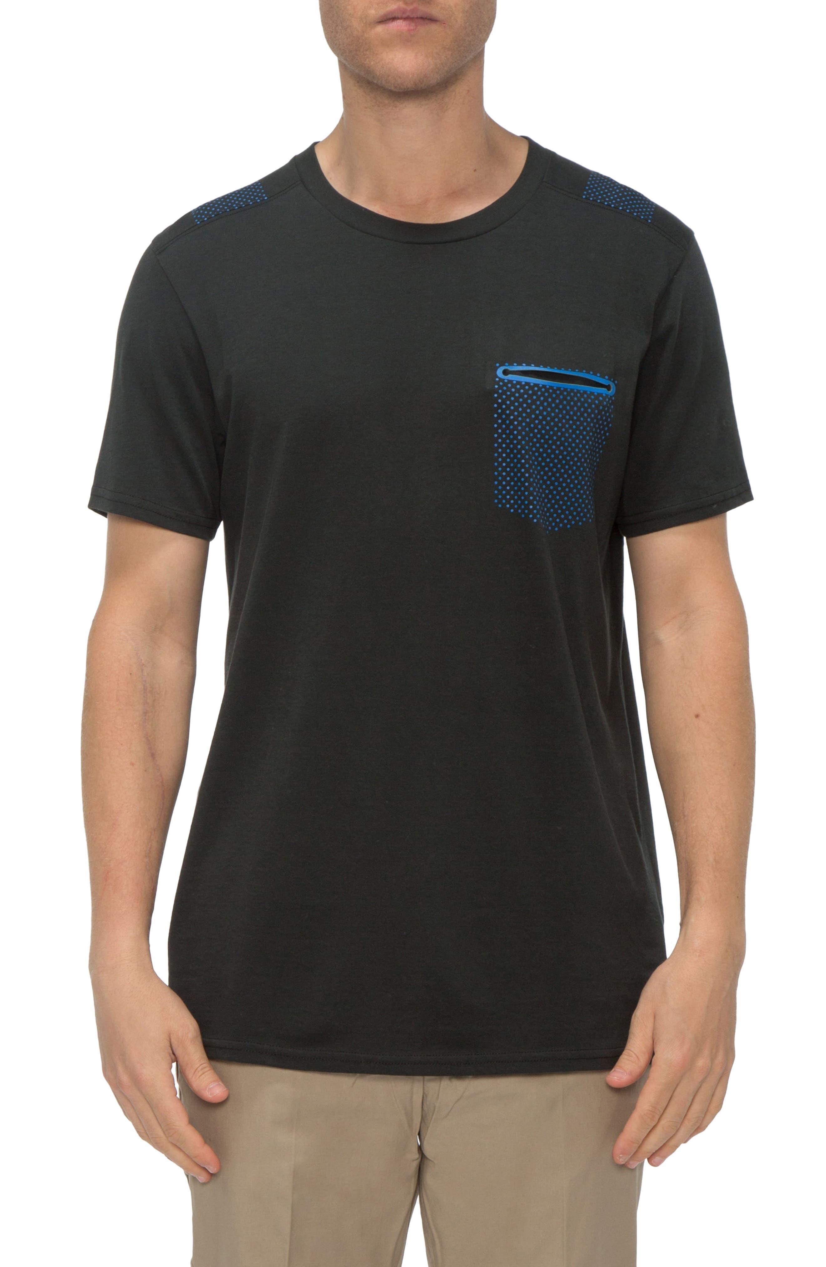 TAVIK Morse Print Pocket T-Shirt