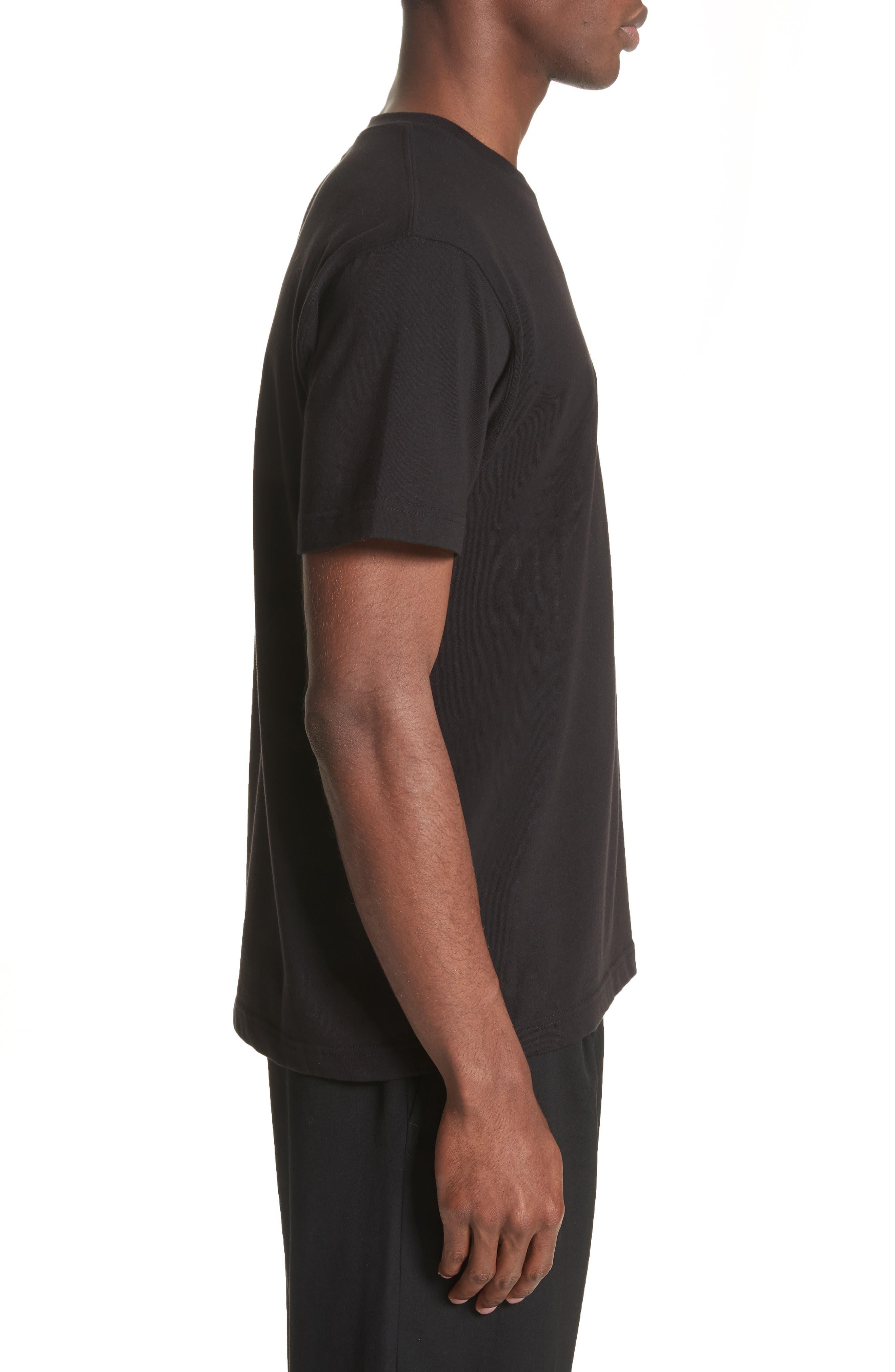 Alternate Image 3  - Yohji Yamamoto x New Era Embroidered Script T-Shirt