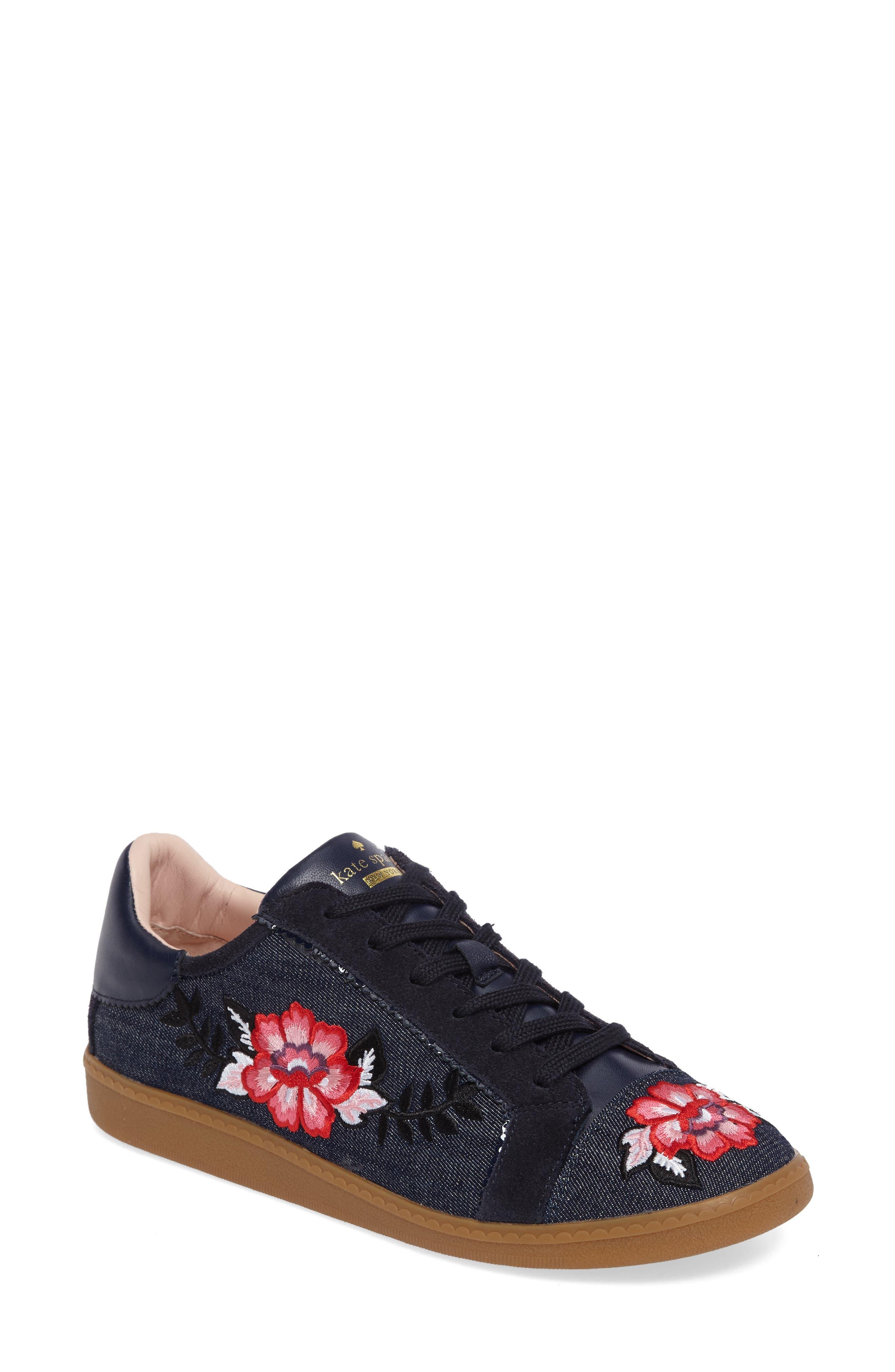 everhart sneaker,                         Main,                         color, Indigo Denim Navy Suede