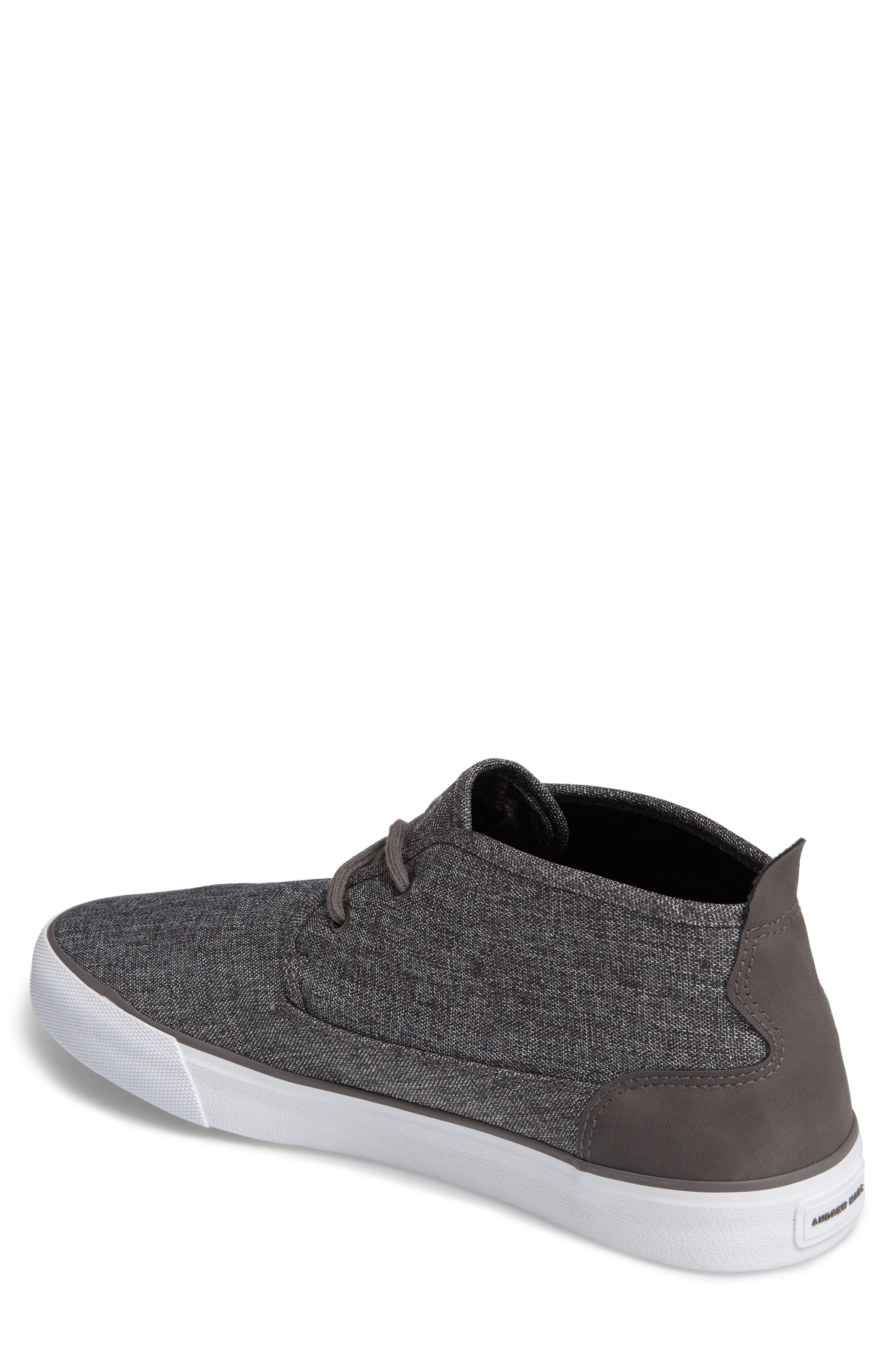 Reade Chukka Sneaker,                             Alternate thumbnail 2, color,                             Charcoal/Dk Charcoal/White