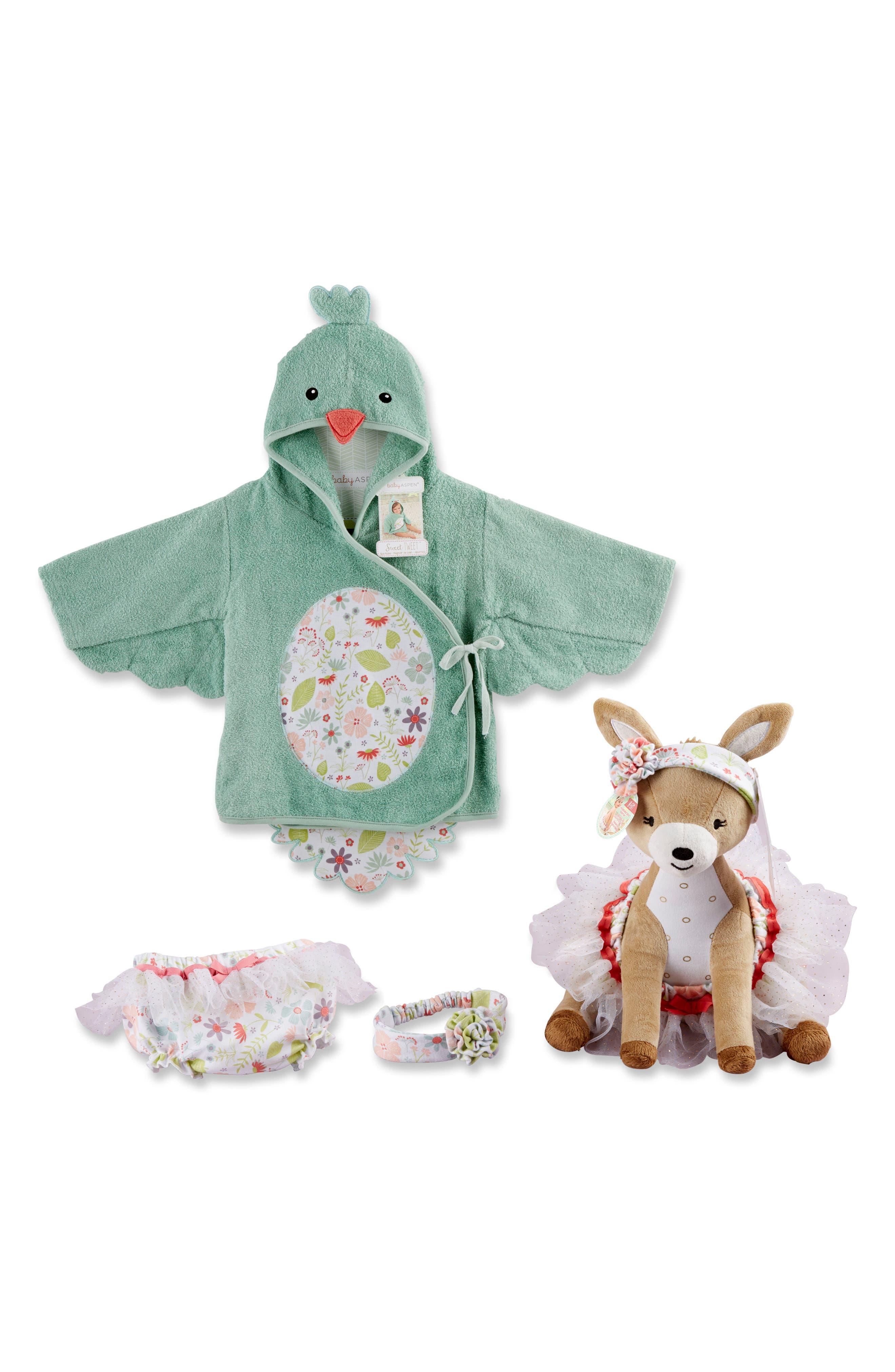 Baby Aspen Sweet Tweet 4-Piece Set (Baby)